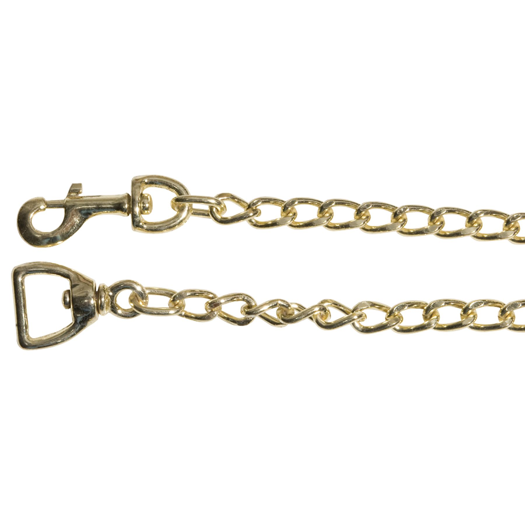 Heavy Duty Brass Plated Chain - 30""