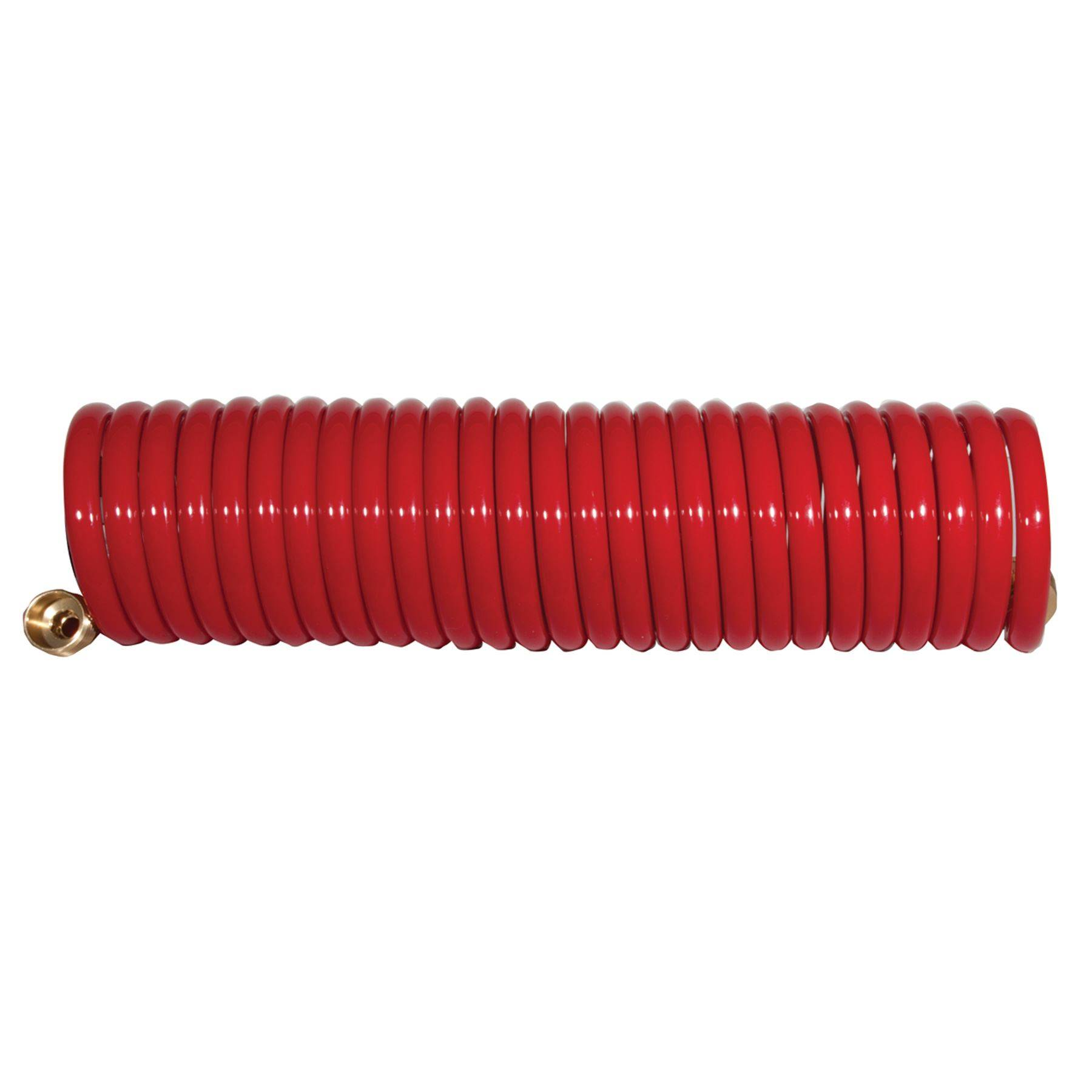 """25' Red 1/2"""" Coil Hose"""