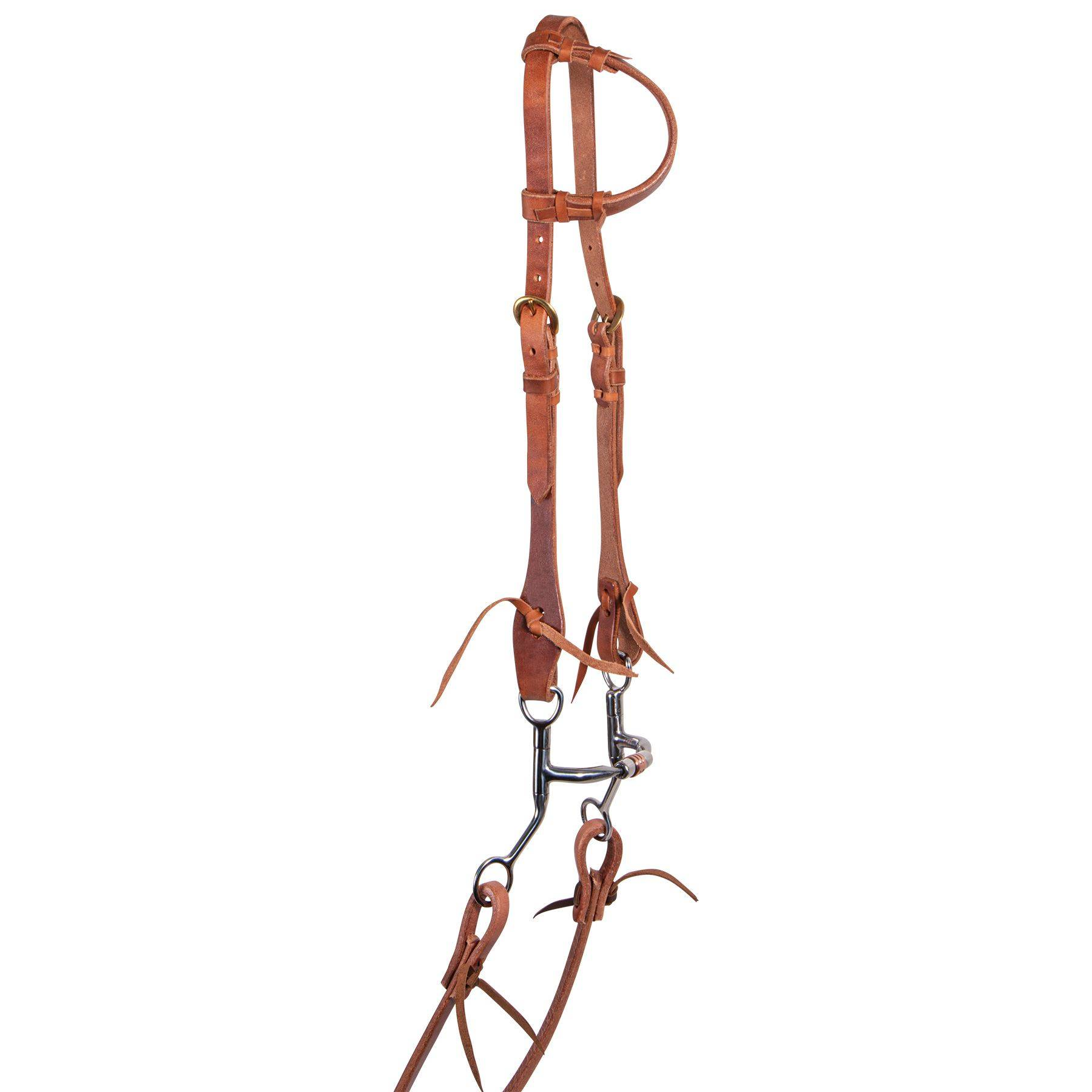 Billy Royal® Harness Leather One Ear Headstall