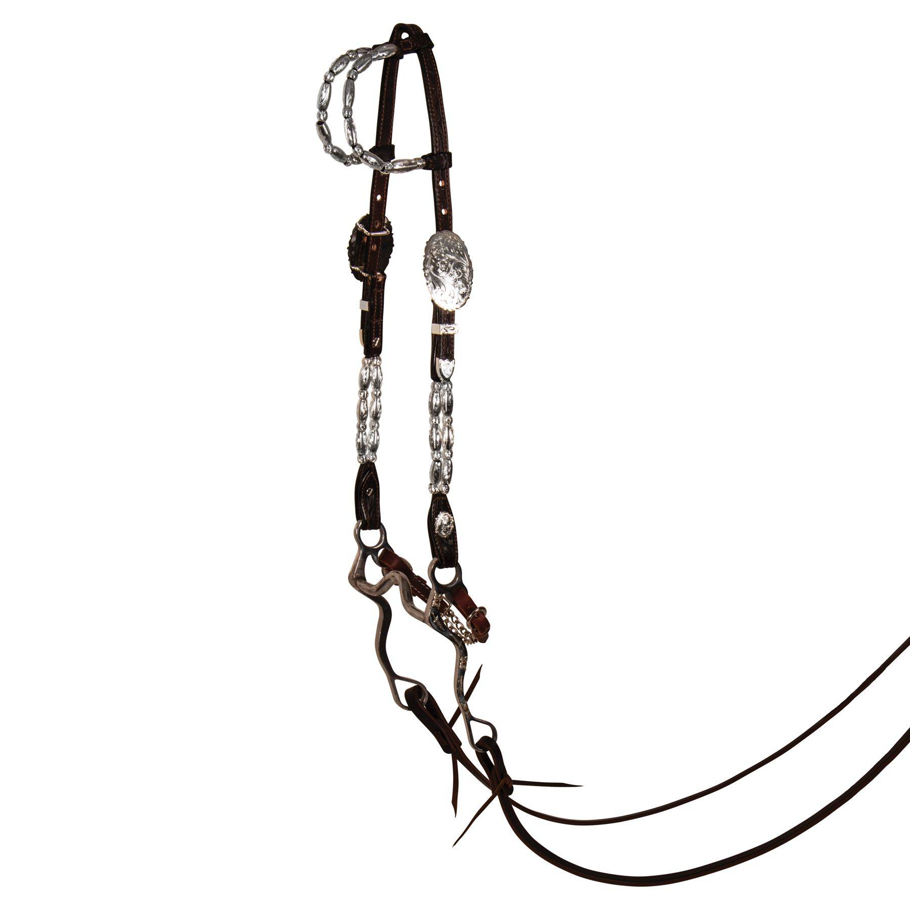 Billy Royal® Double Row Two Ear Headstall