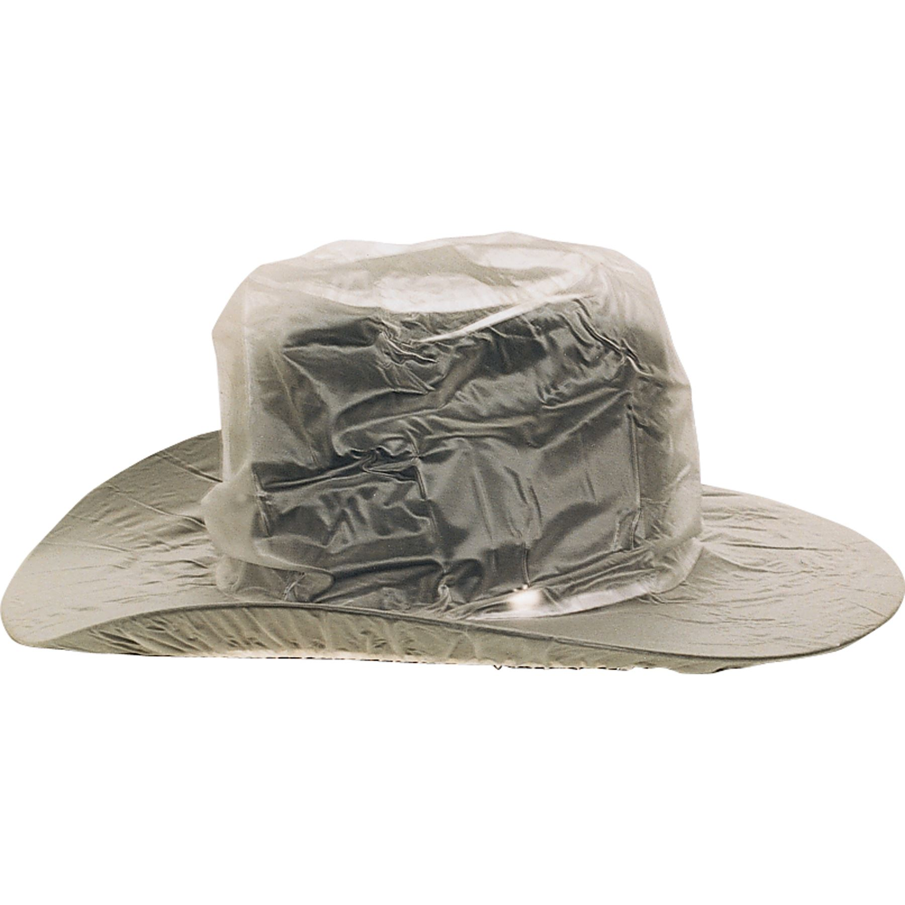 Clear Western Rain Hat Cover
