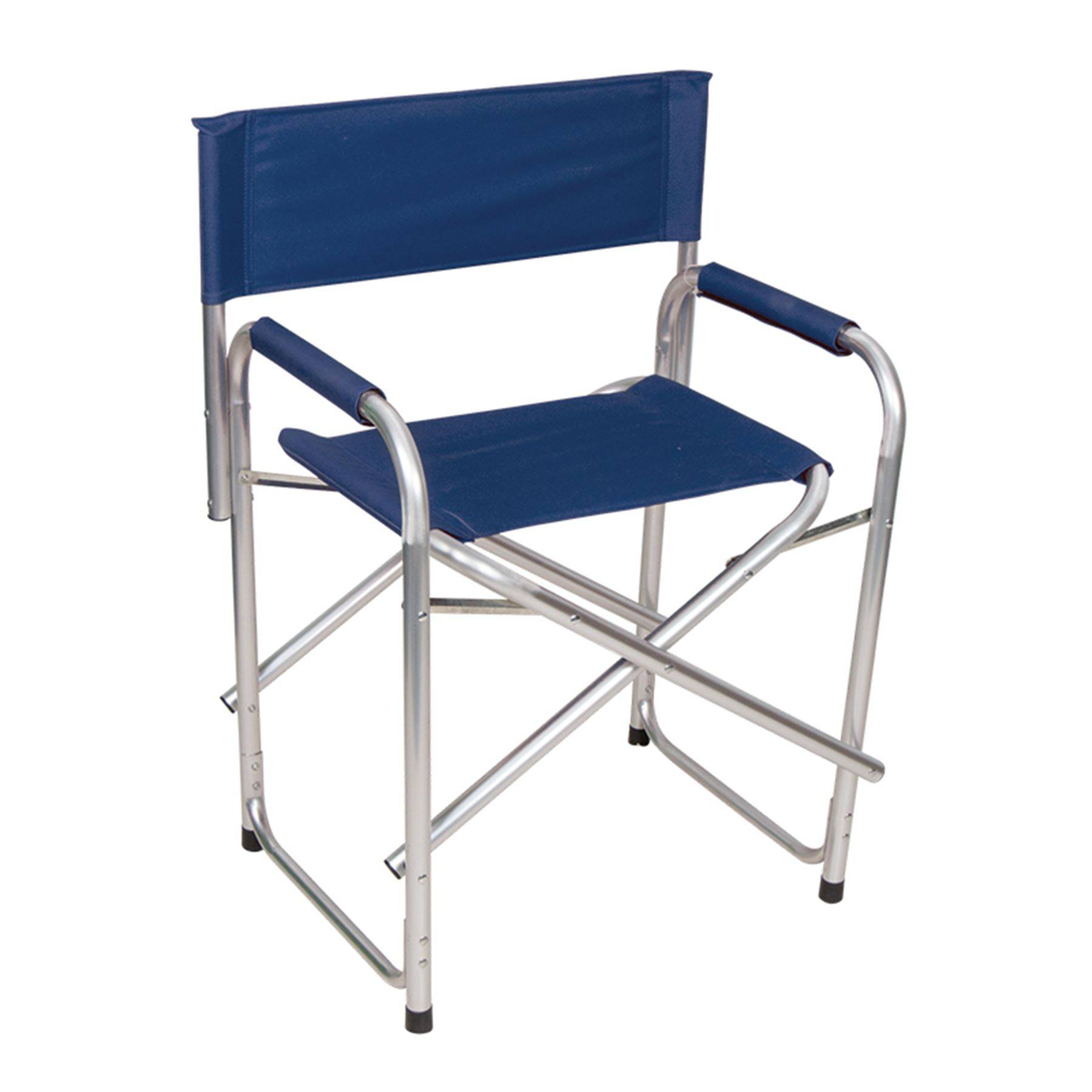 Dura Tech Folding Directors Chair in Stall Drapes Chairs at