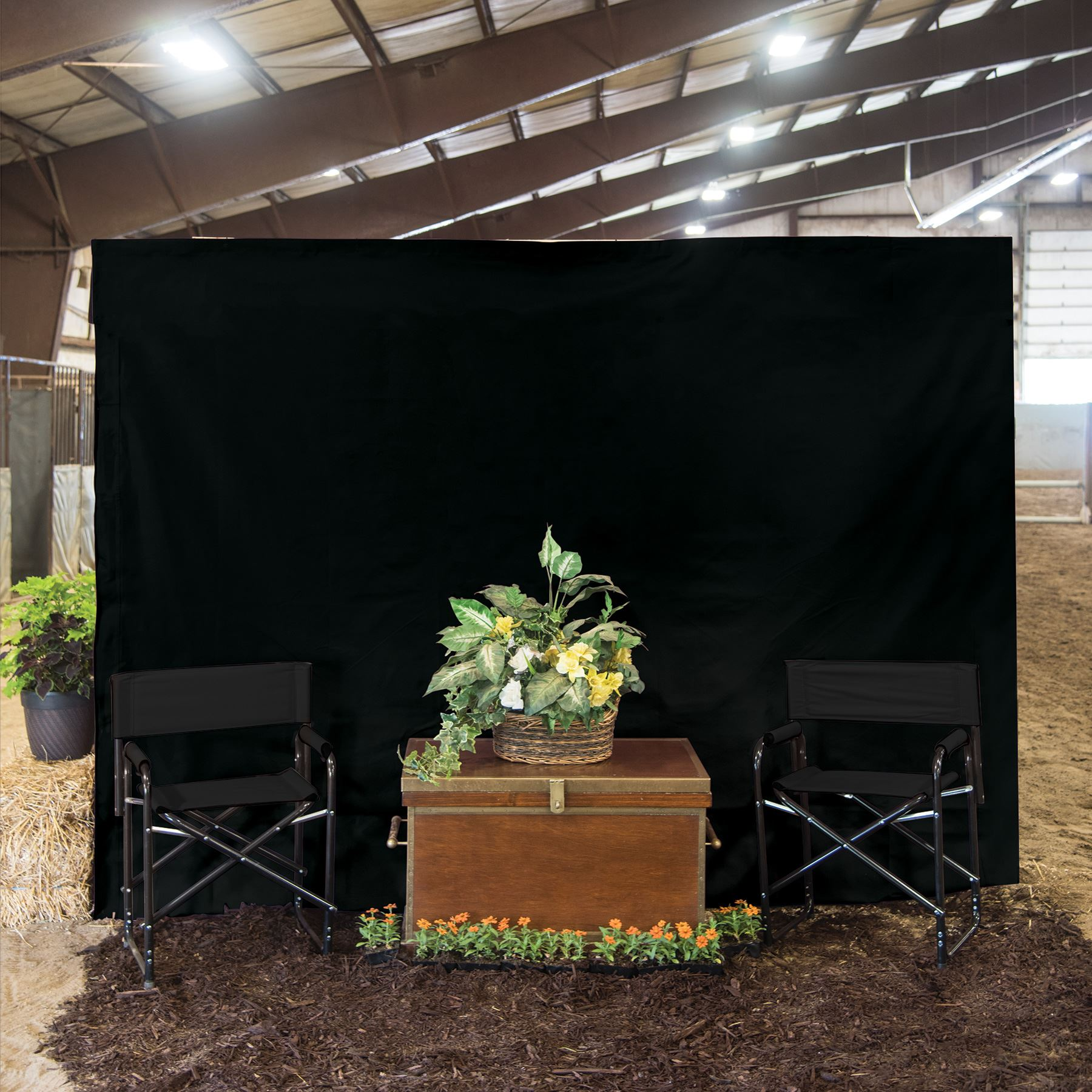 Dura Tech 174 Wall Panel 8 X 10 In Stable At Schneider Saddlery