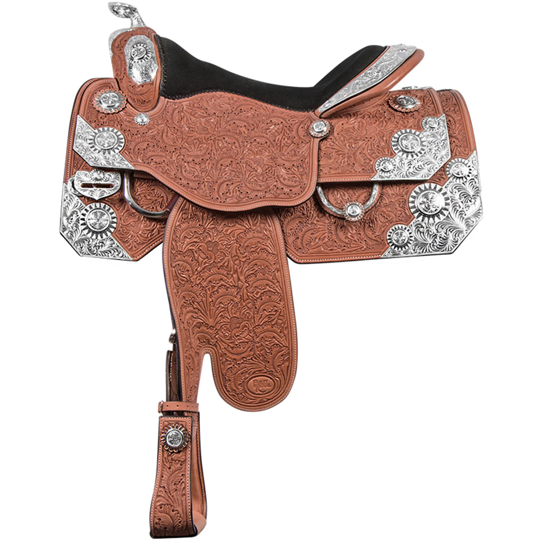 Billy Royal® Carolina Rowel Classic Show Saddle