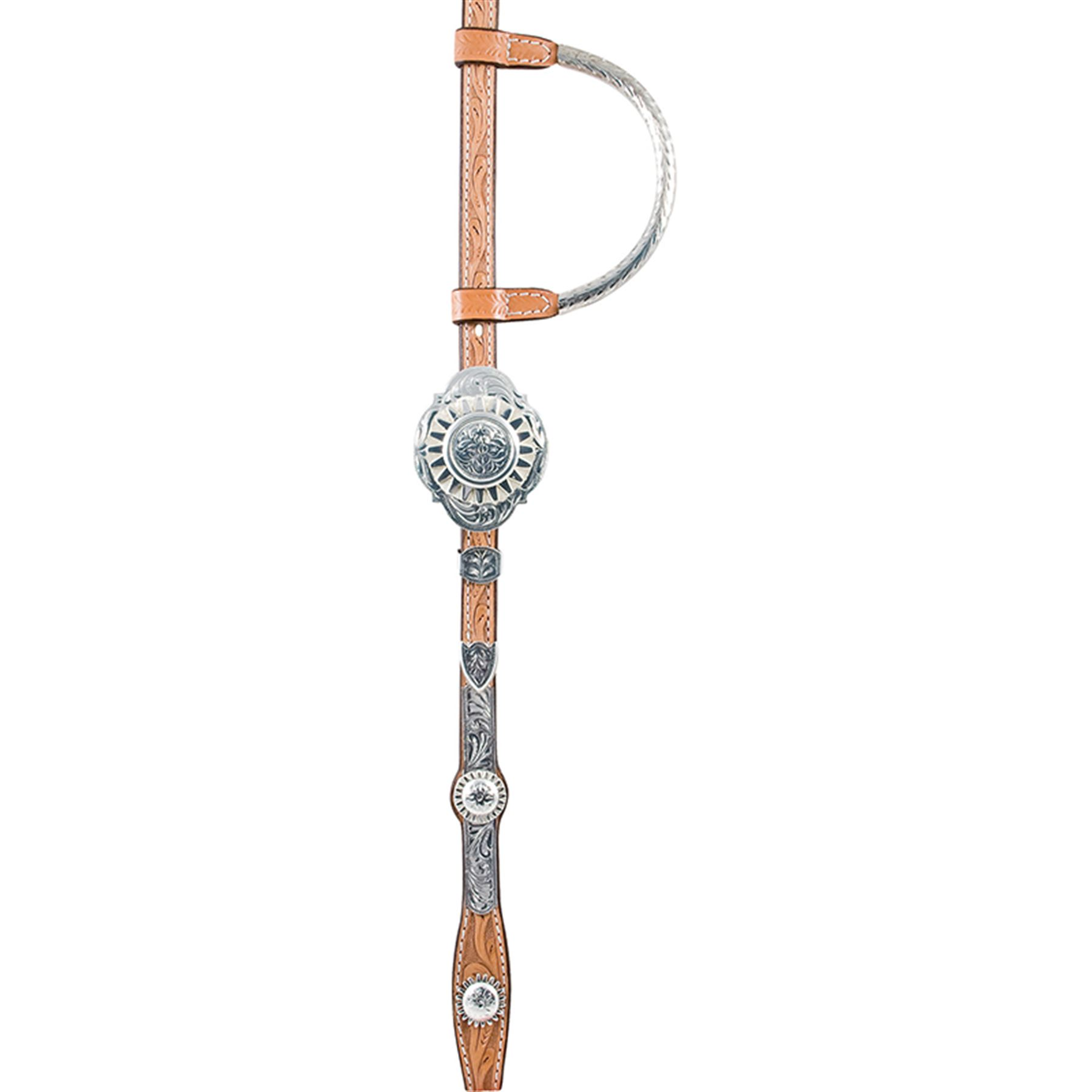 Billy Royal® Rowel Ferrule Two Ear Headstall
