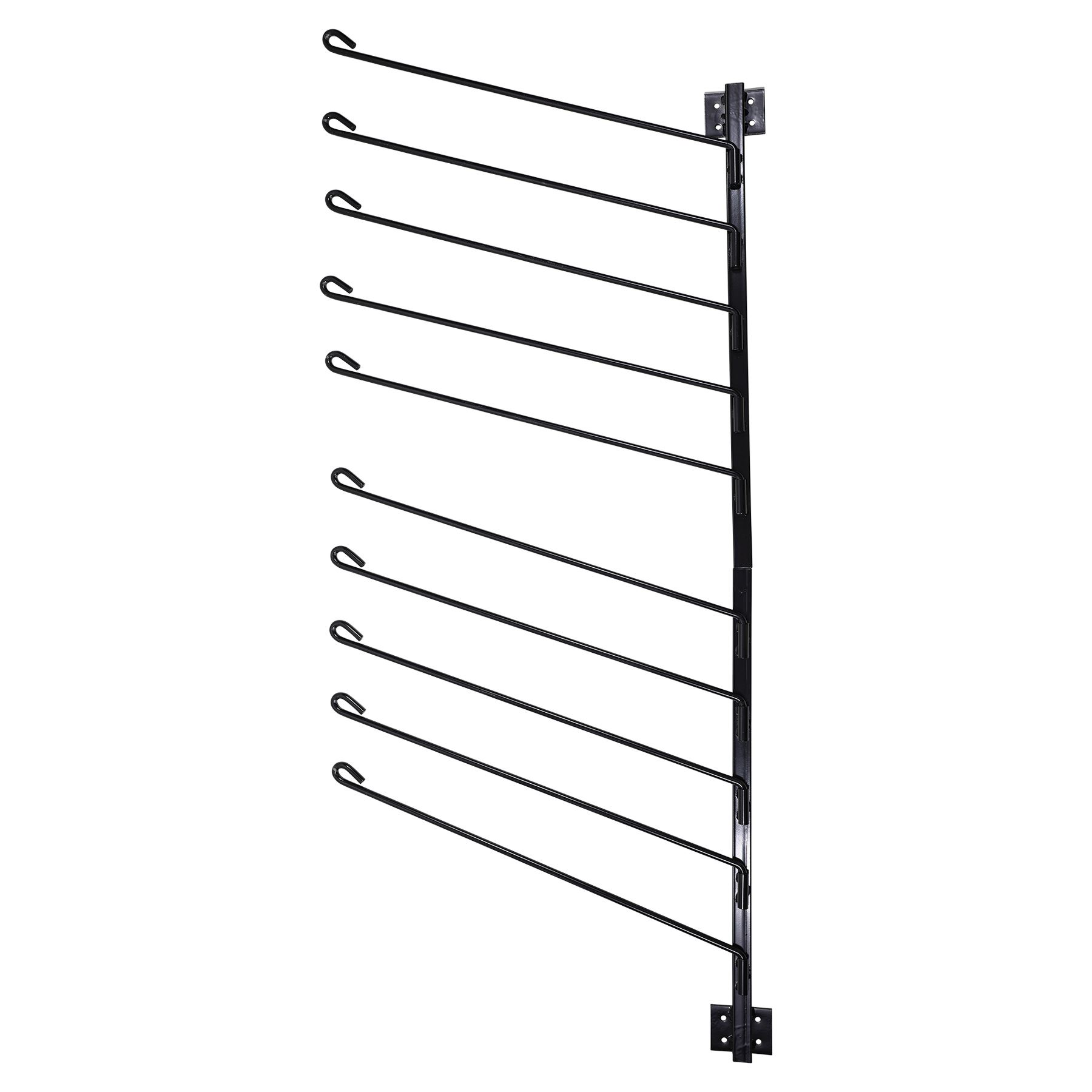 Easy Up 174 10 Arm Vertical Pad Rack In Stable At Schneider