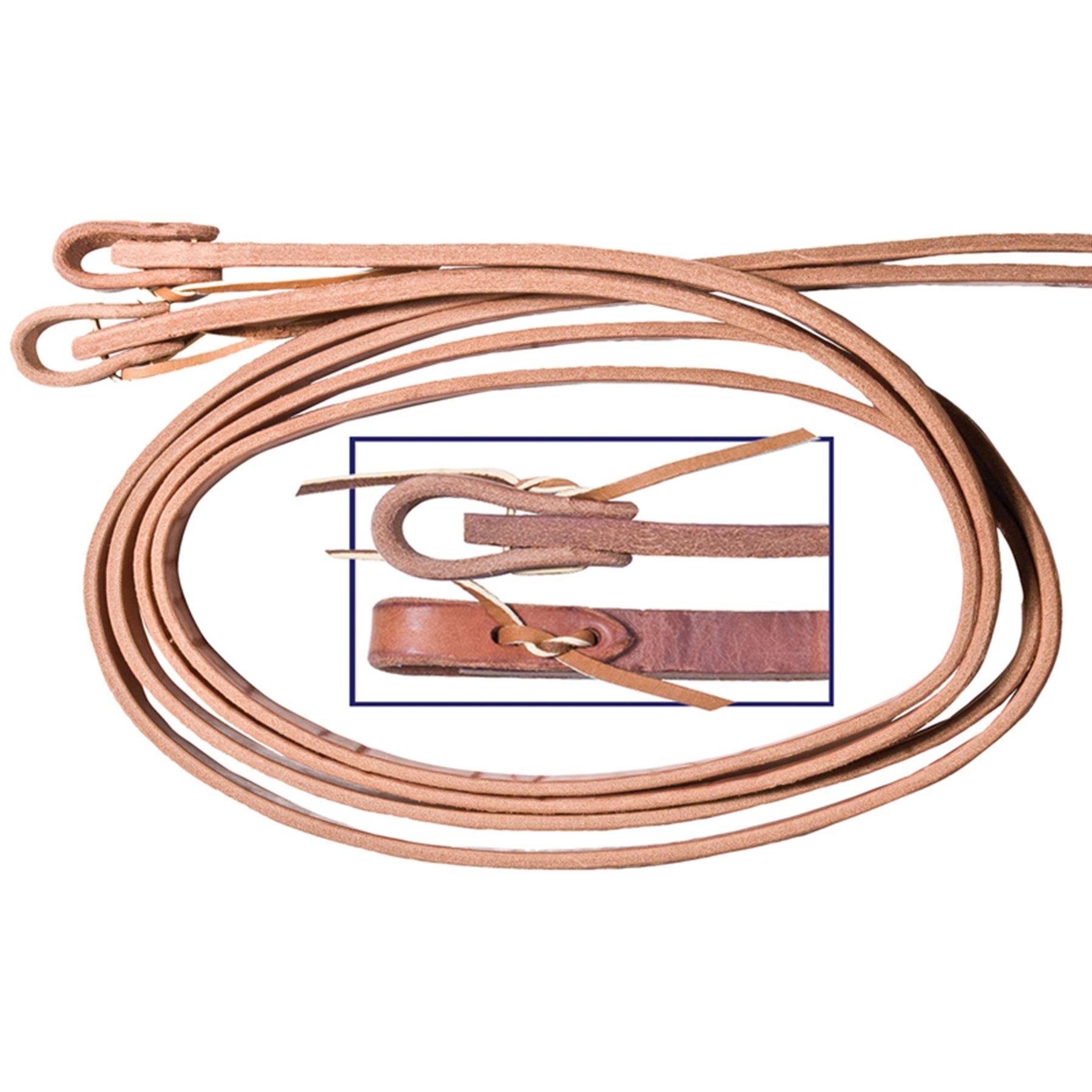 Billy Royal® Extra Heavy Hermann Oak Leather Reins