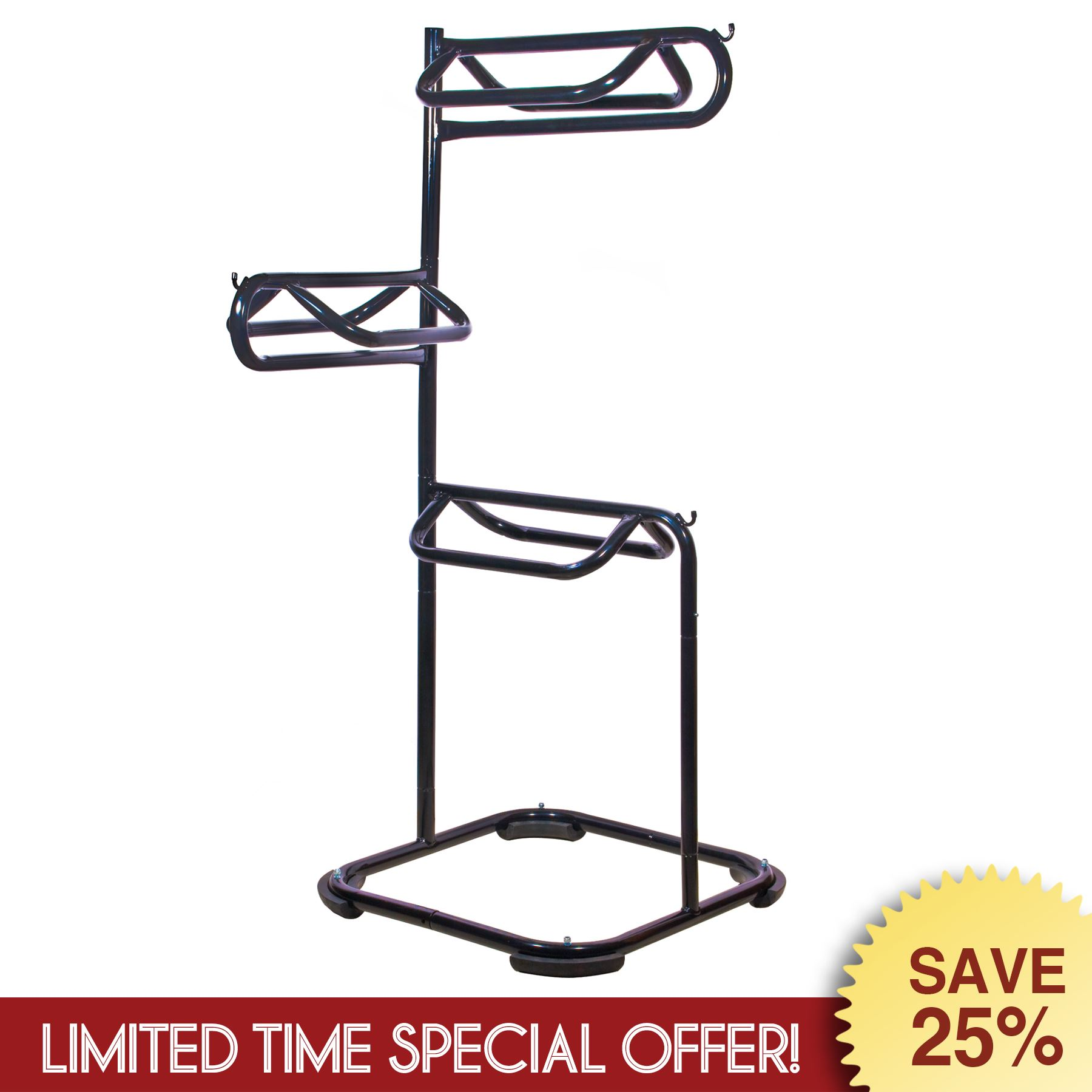tier outdoors dp duty holder titan amazon rack sports storage stand heavy saddle horse display com equestrian barn