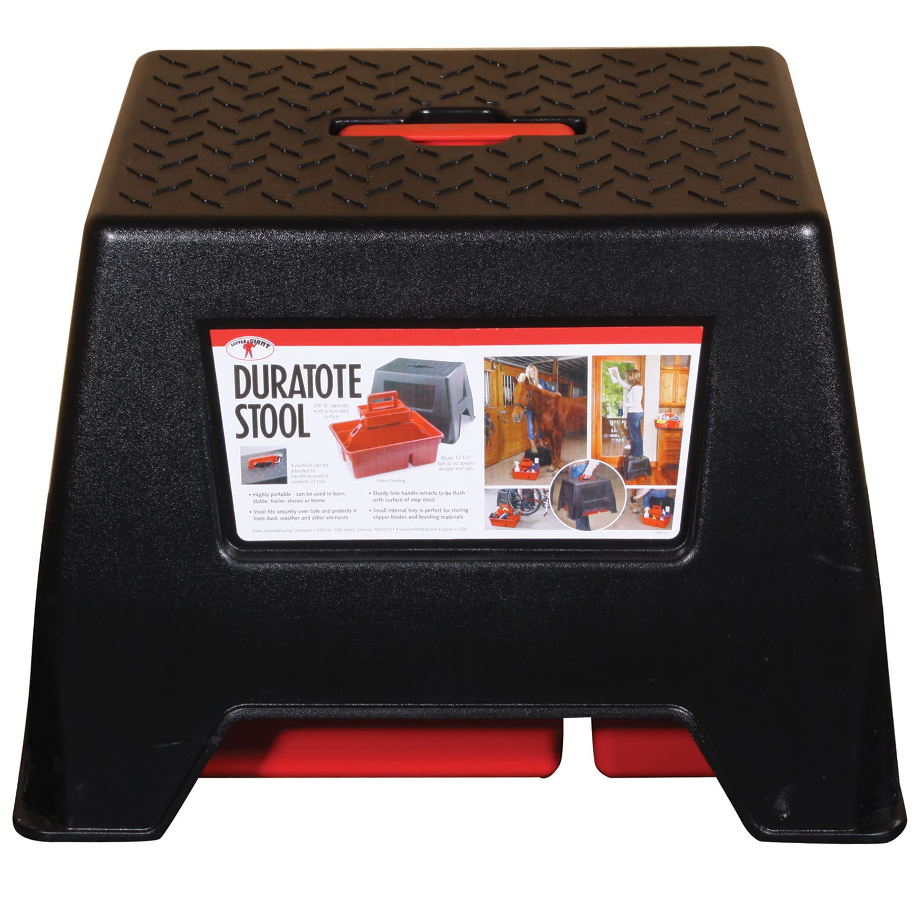 Little Giant Duratote Step Stool In Grooming Bags Cases
