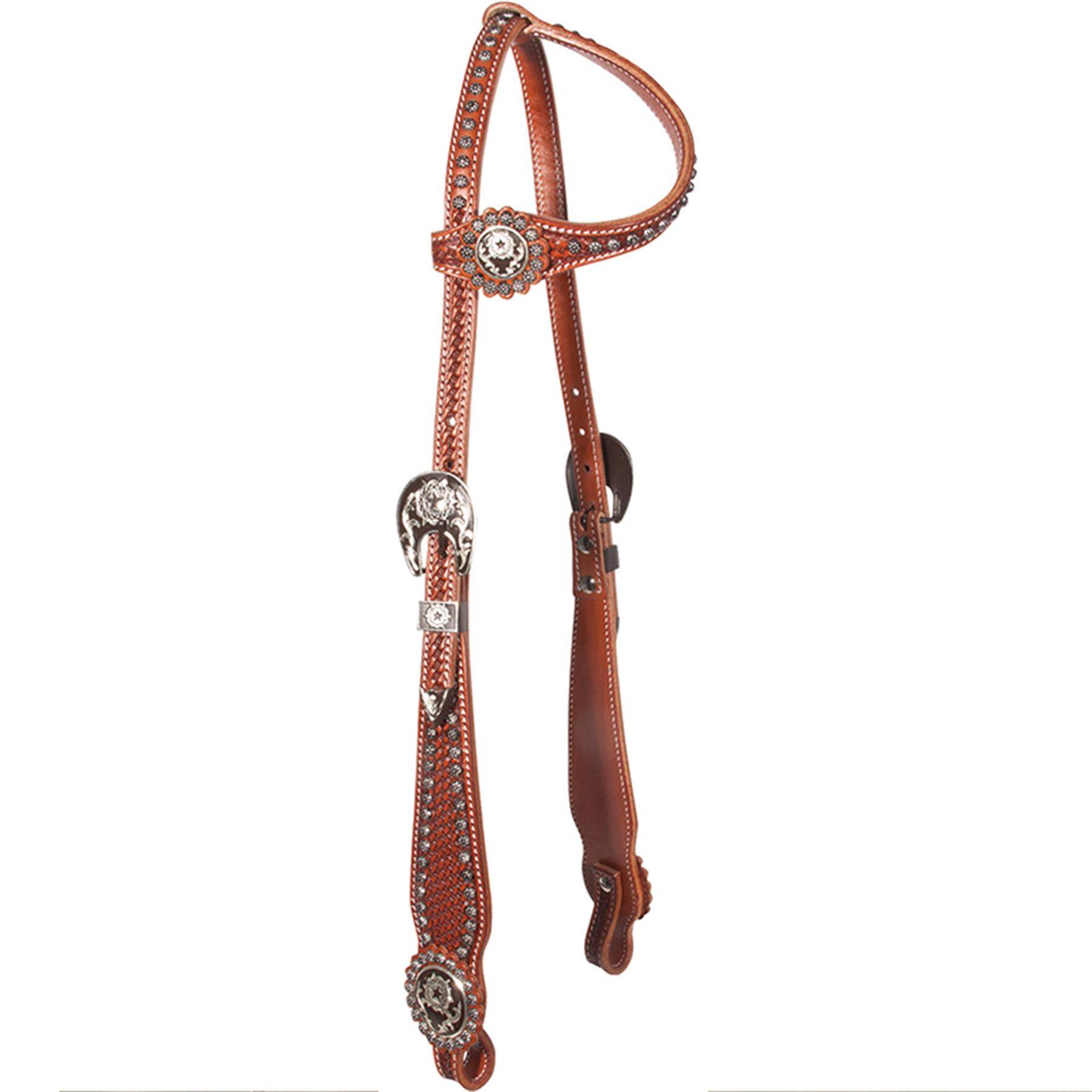 Billy Royal® Bling Stars with Studs One Ear Bridle