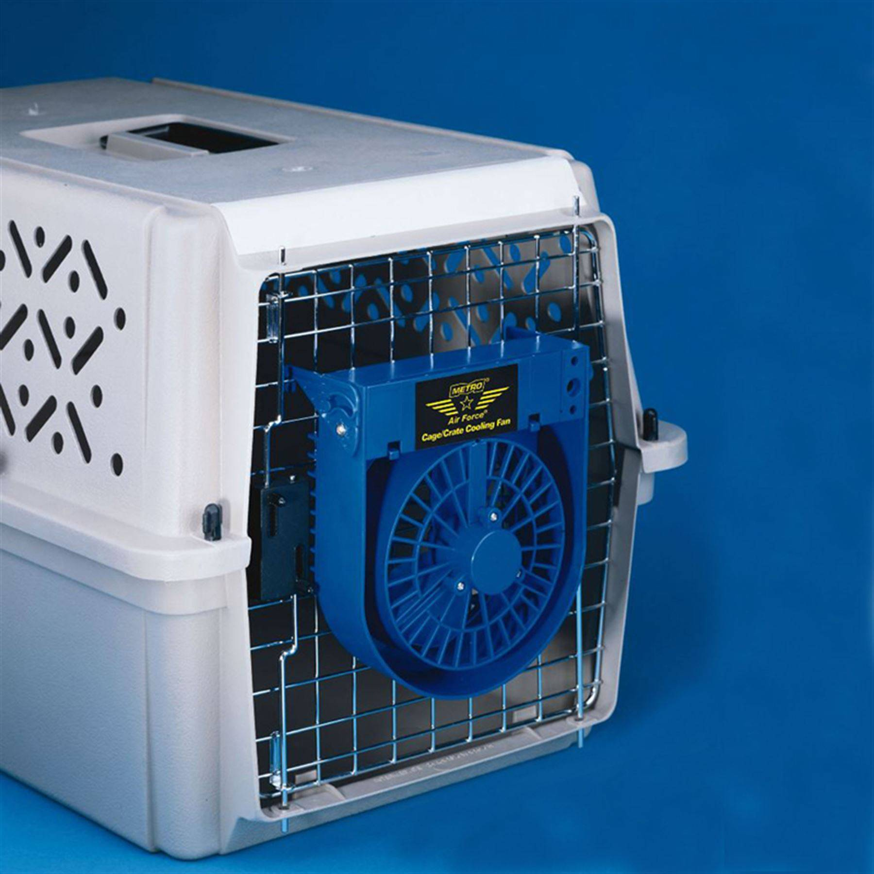 Dog Crate Fans : Dog crate cooling fan in traveling accessories at