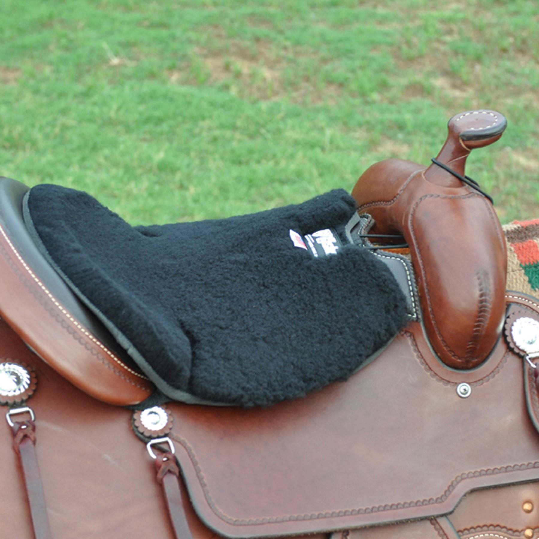 Cashel Western Long Fleece Seat Cushion