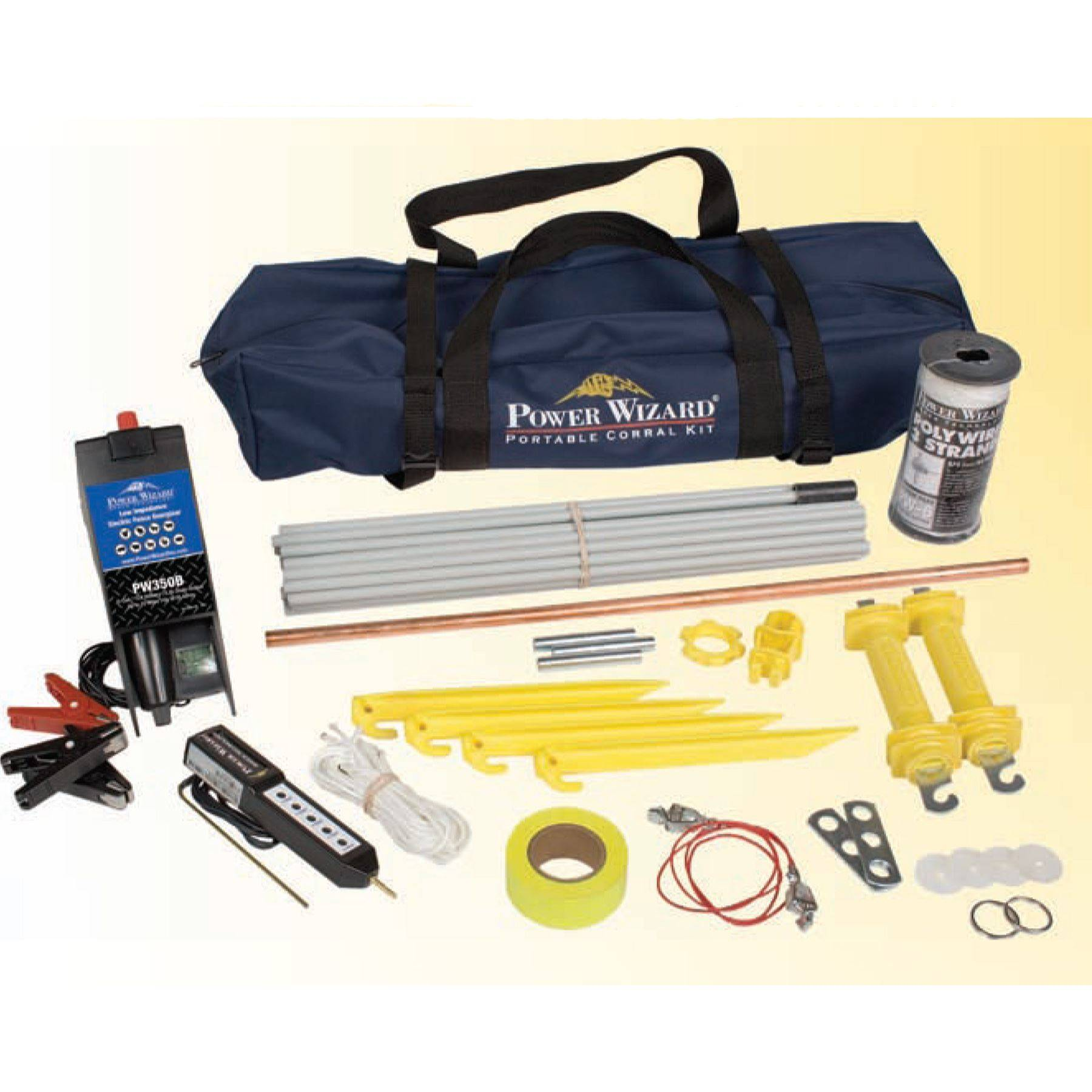 Power Wizard Portable Corral Kit