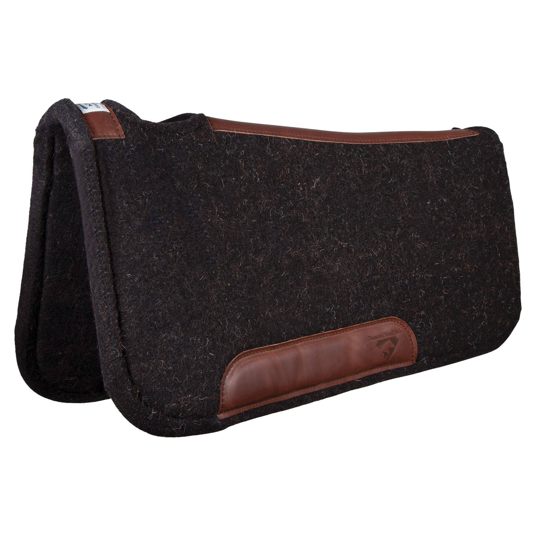 Diamond Wool® Contoured Tough Western Saddle Pad