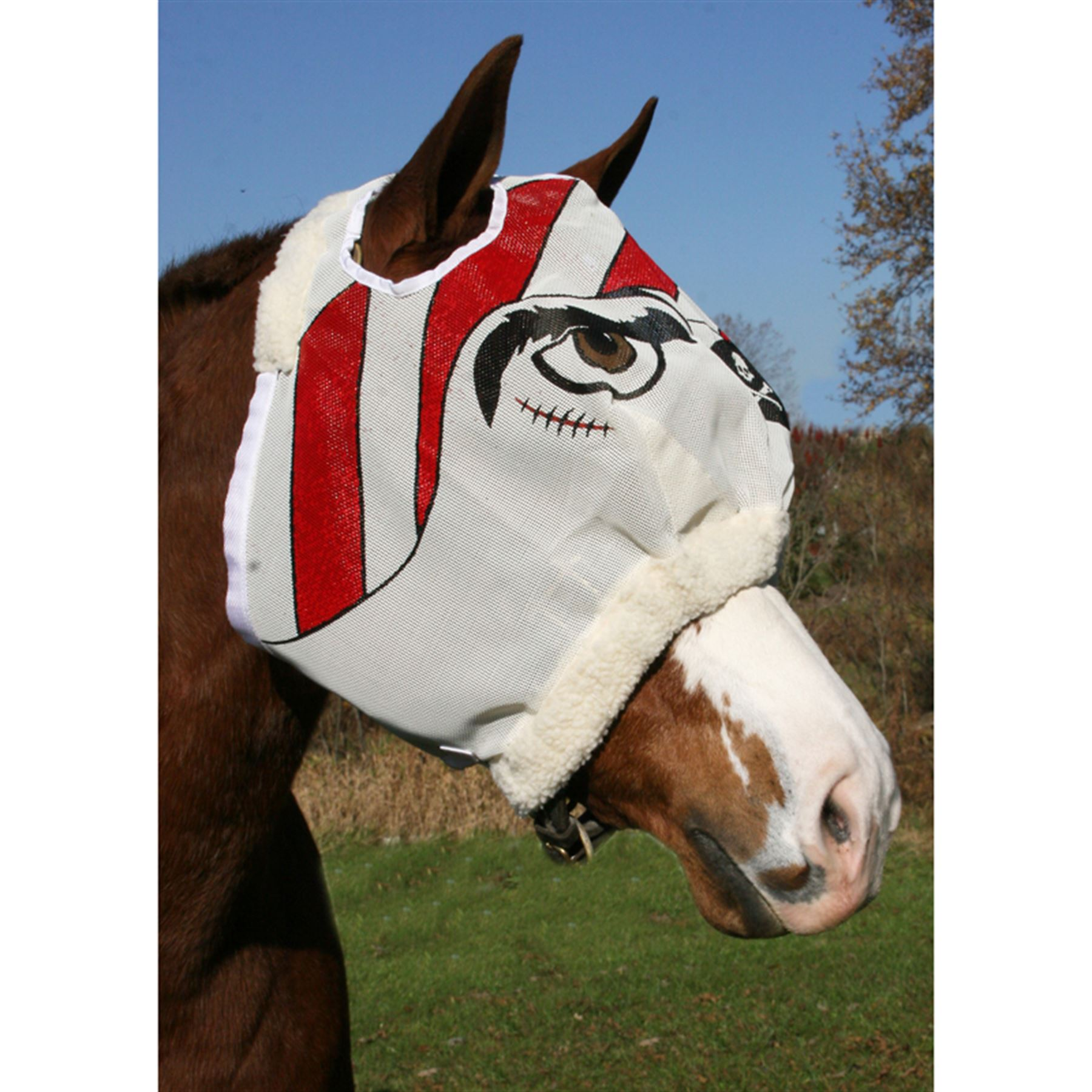 Pirate Designer Fly Mask without Ears