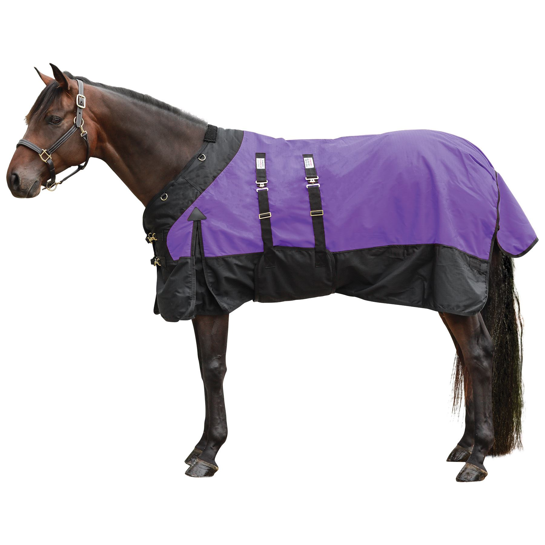 StormShield® Contour Collar Classic Bellyband Turnout Blanket - Heavyweight