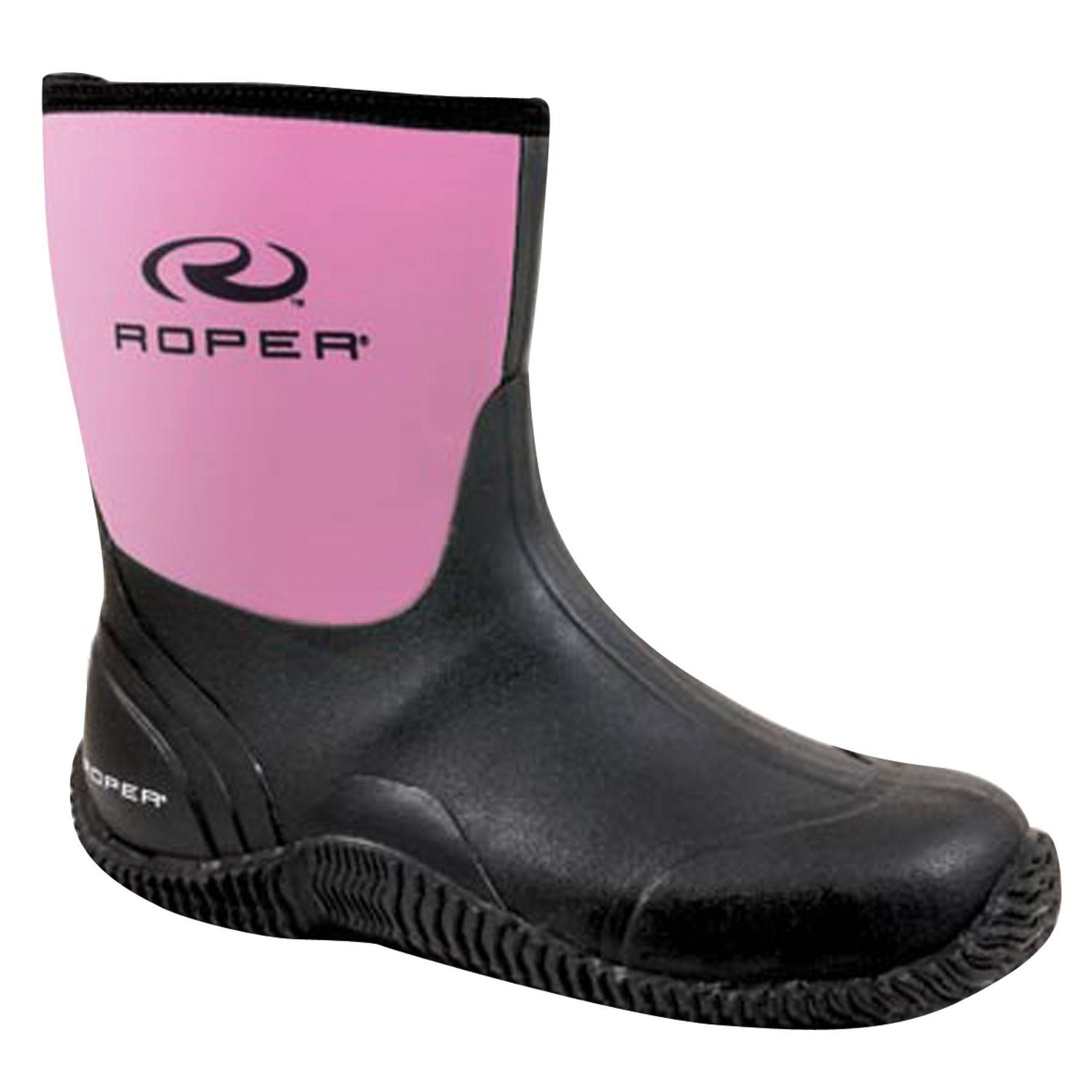 "Roper Ladies 9"" Neoprene Barn Boot"