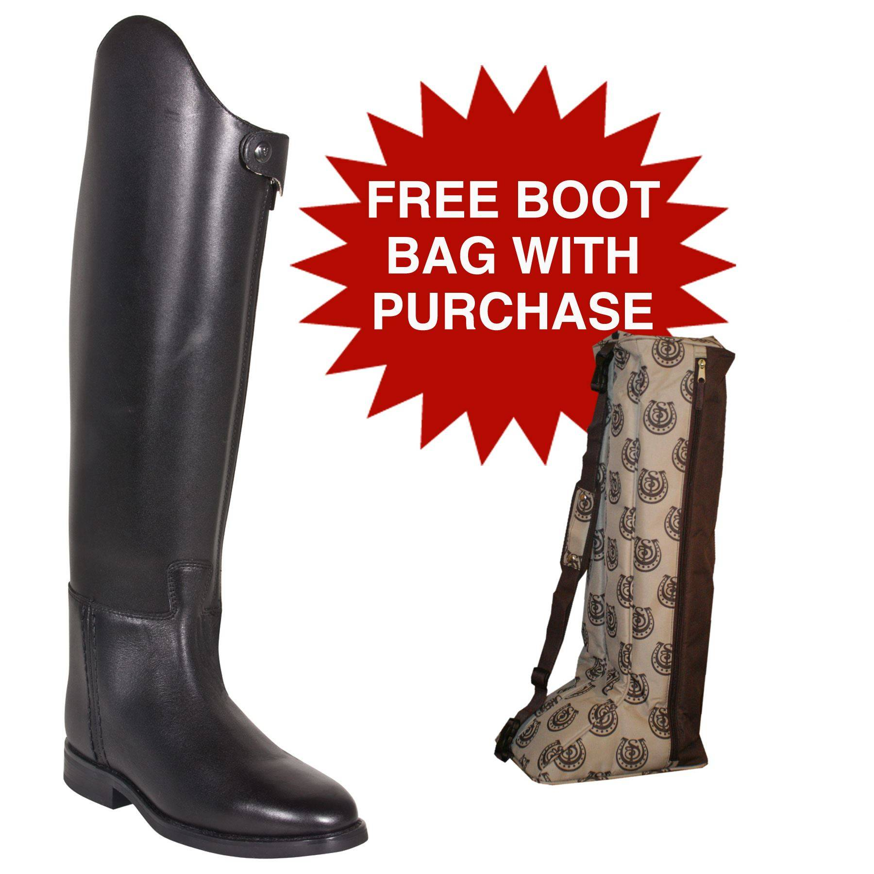 Ariat Ladies Tempo Dressage Boots In Field Hunt Boots At