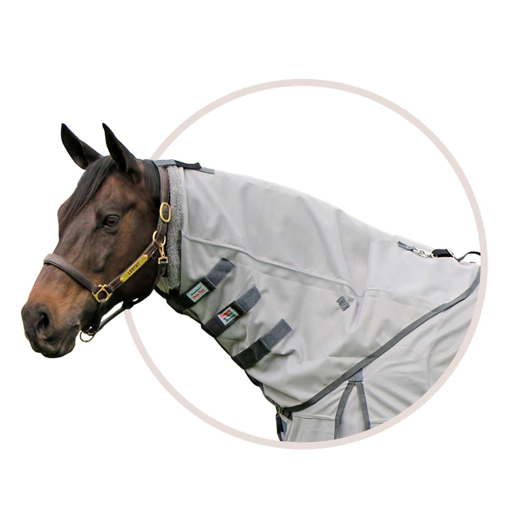 Interlock Mesh Fly Neck Cover