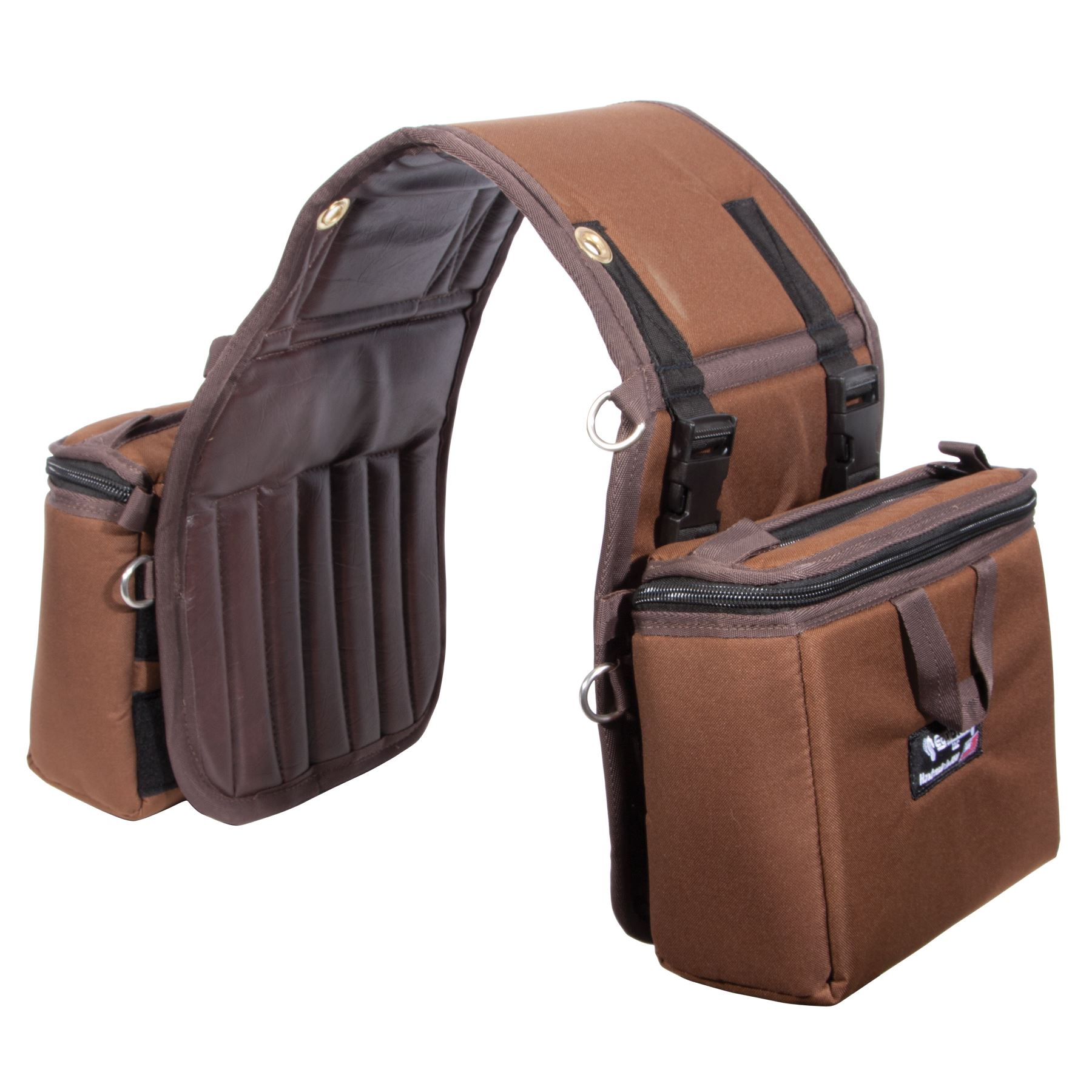 Equi Tech Stay Put Insulated Saddle Bag Small In Trail