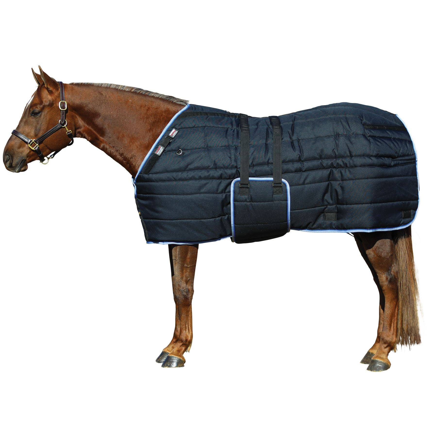 Adjusta-Fit® Tekno-Quilt® V-Free® Bellyband Stable Blanket - Heavyweight