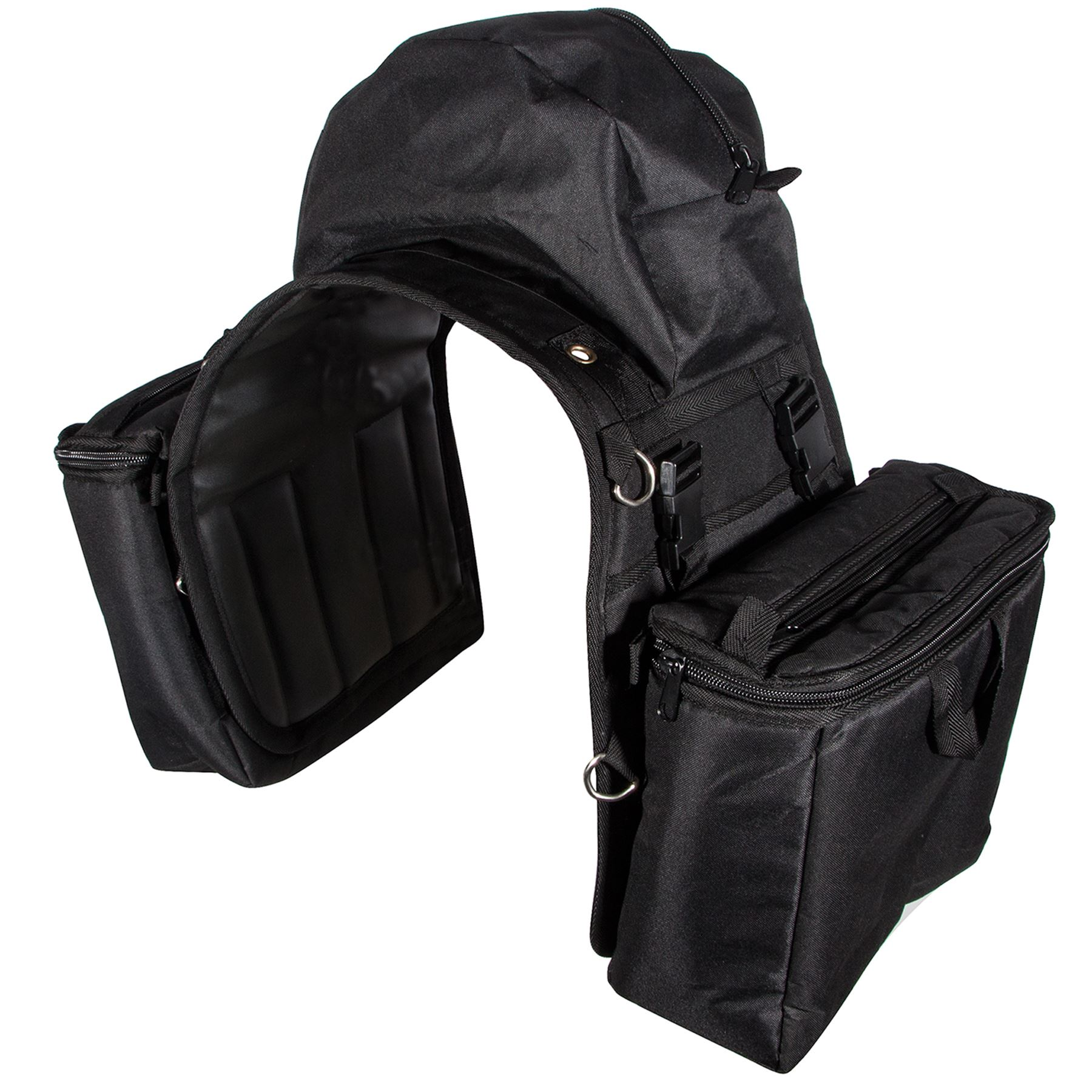 Dura-Tech® Insulated Detachable Saddle Bag w/Cantle Bag in ...