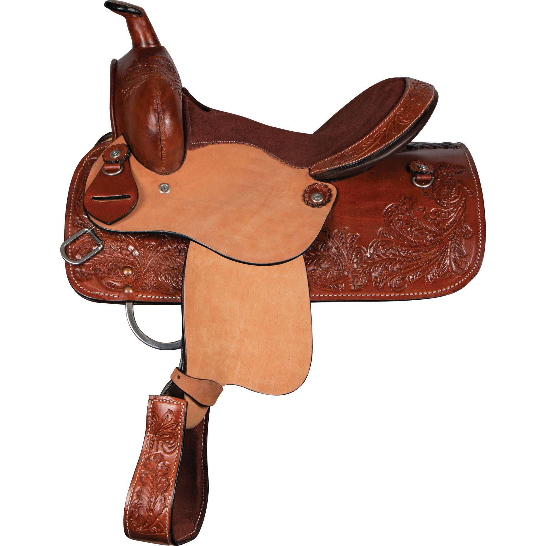 Double S Lil' Buckaroo Youth Saddle