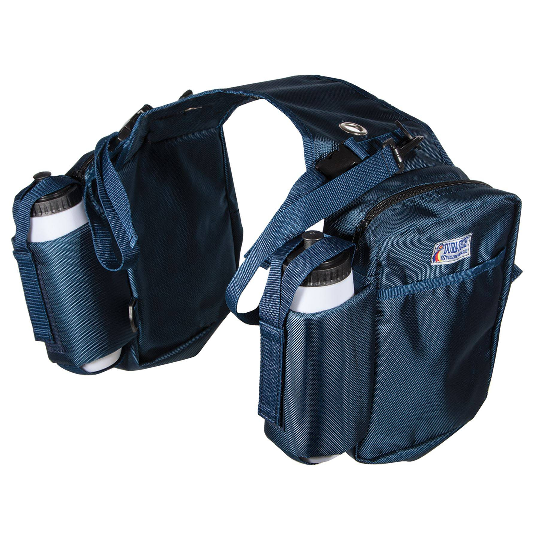 Dura-Tech® Trail Boss Double Sided Saddle Bag w/Pockets