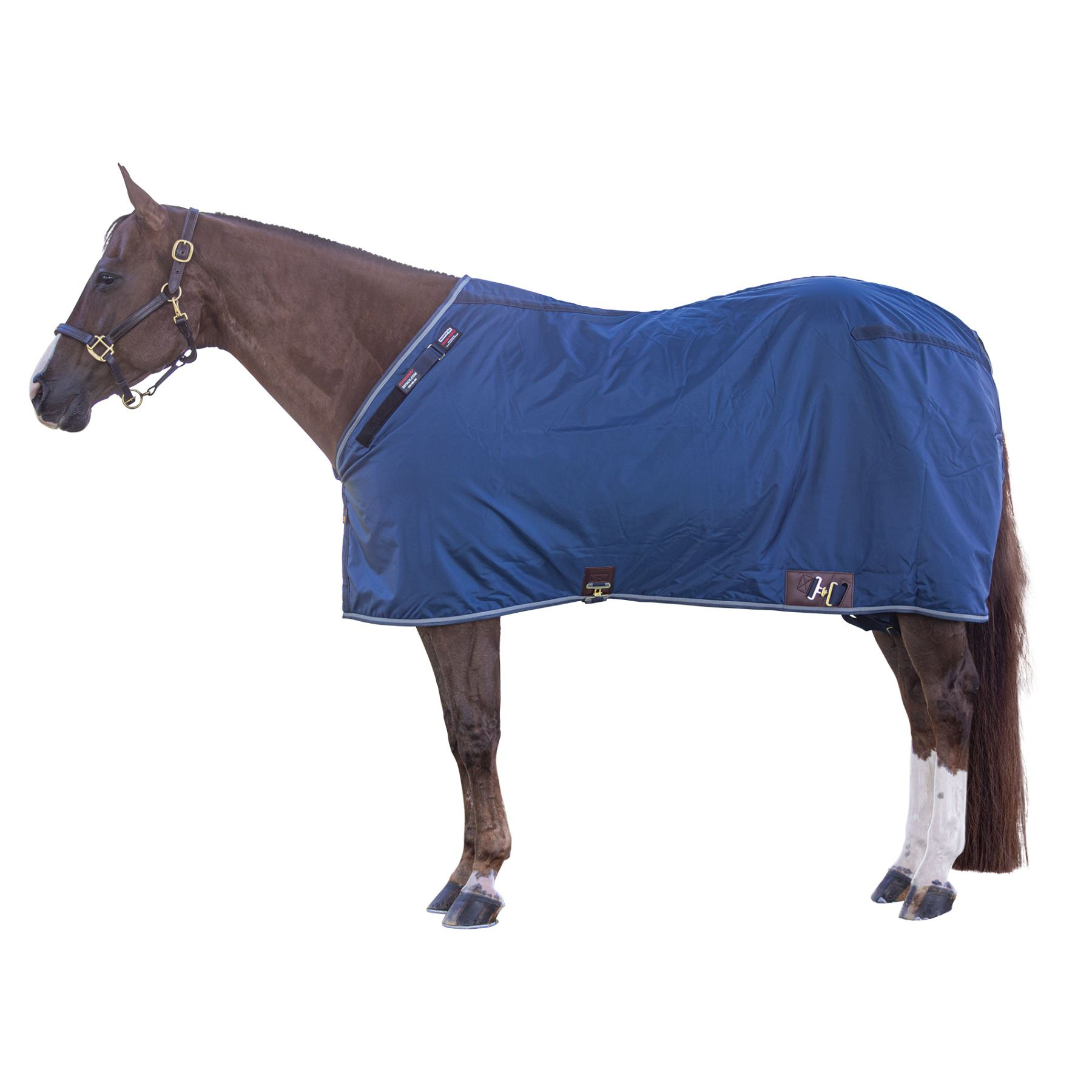 Adjusta-Fit® Dura-Nylon® Tekno-Fleece® V-Free® 3 Season Leg Strap Stable Blanket - Lightweight