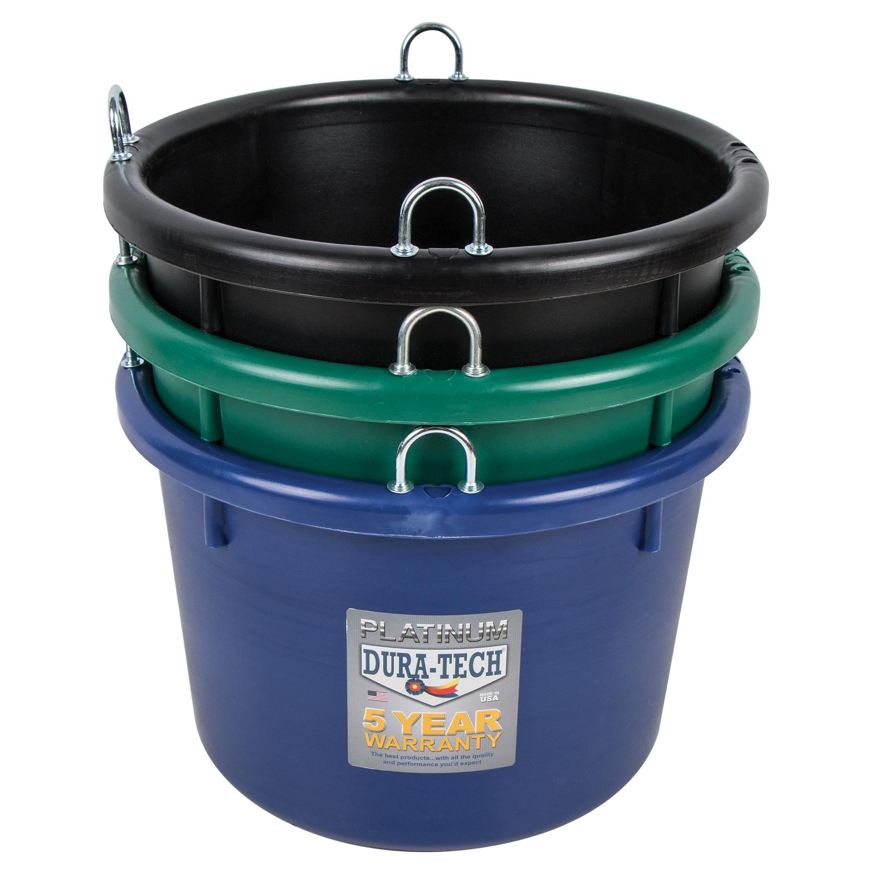 Dura-Tech® Platinum Feed Tub - 28 Qt. in Water Buckets / Waterers at ...