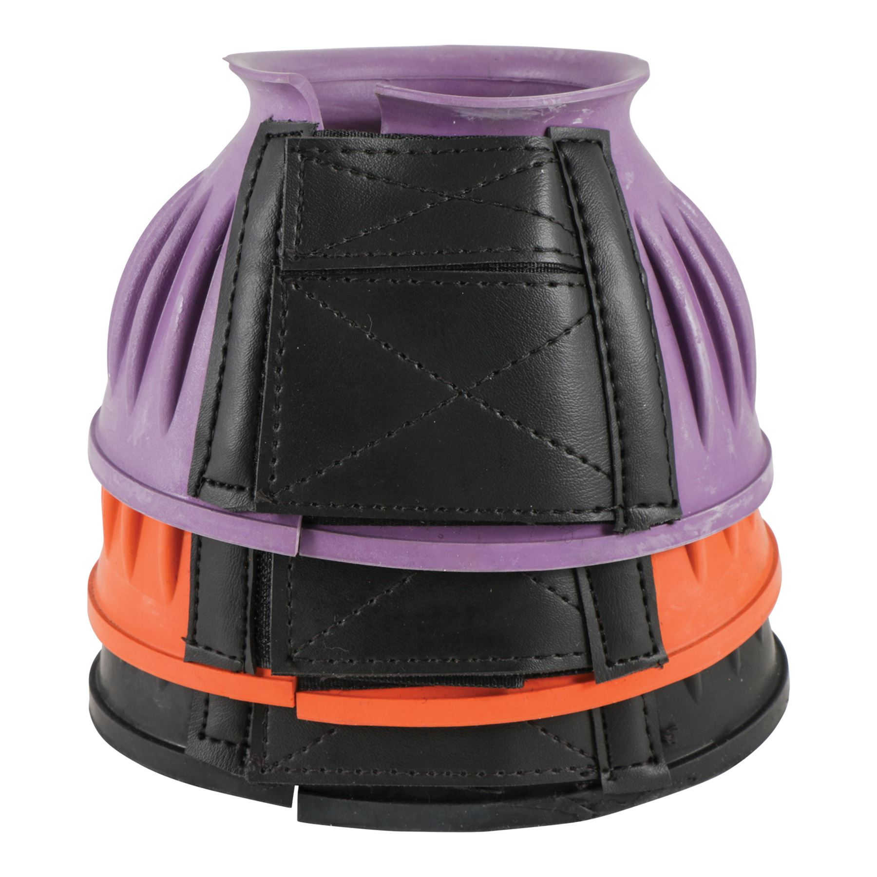 Dura Tech 174 Ribbed Rubber Double Lock Bell Boots In Western
