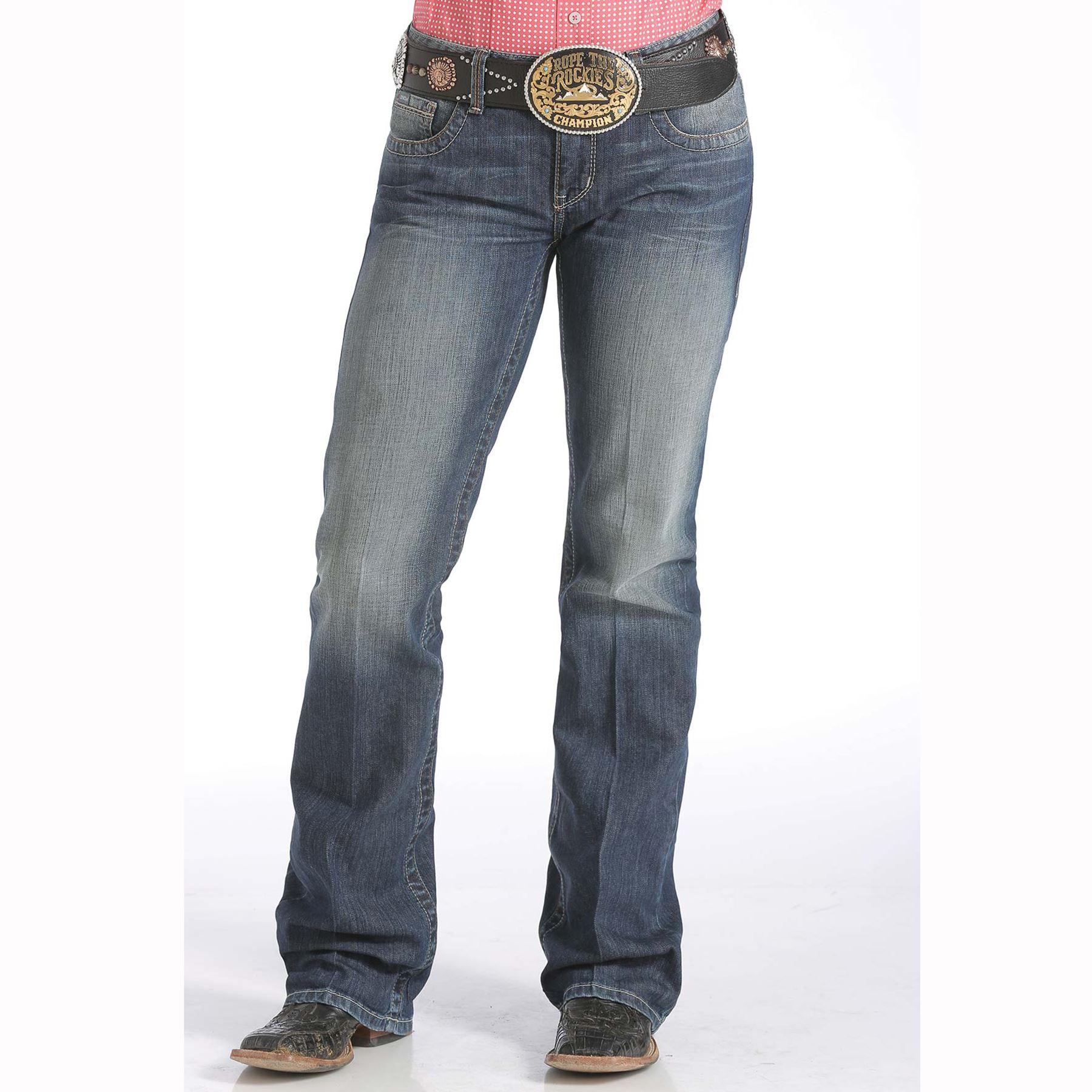 372d83ad45a Cinch Ladies Ada Relaxed Fit Jeans in Apparel Boots at Schneider ...