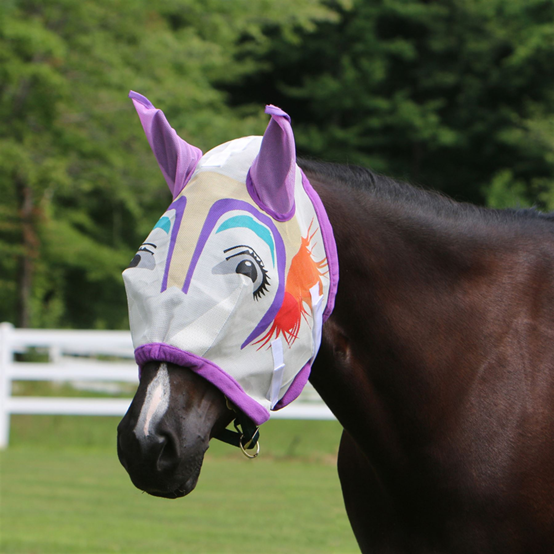 Dura-Tech® Clown Fly Mask with Ears