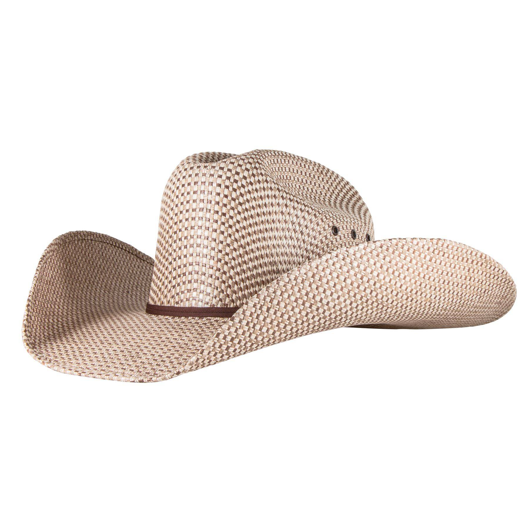 Rodeo King Rancher 3 Tone Straw Hat a28b8377508