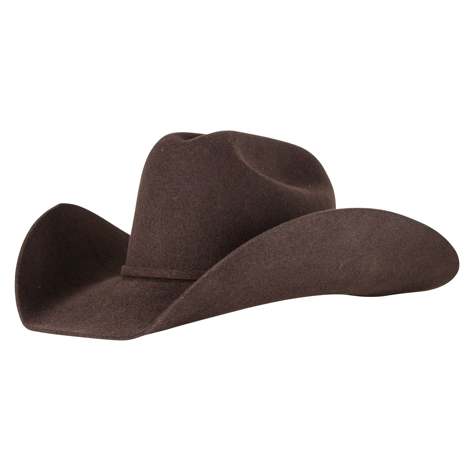 Schneiders Low Rider 3X Felt Cowboy Hat - Chocolate