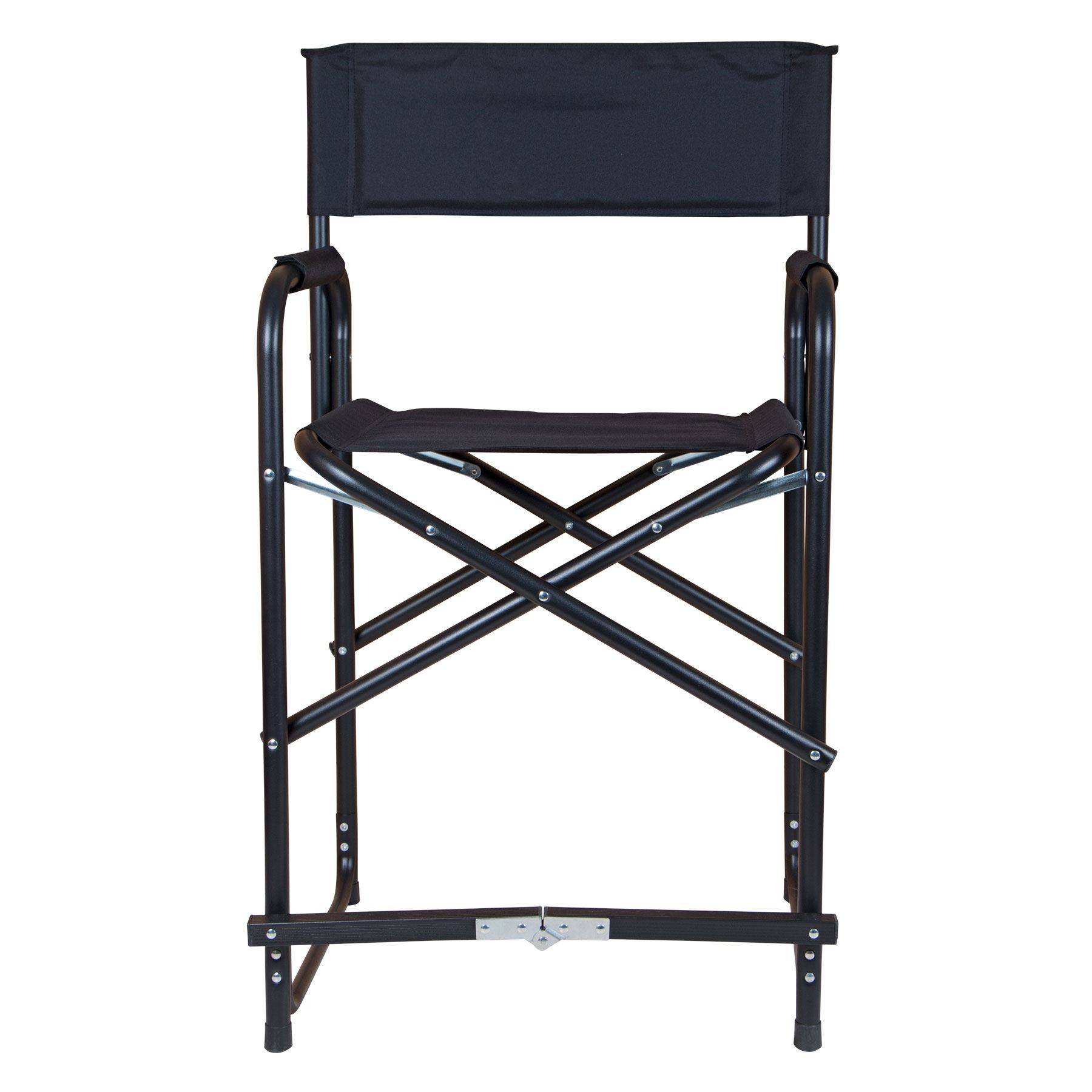 Dura Tech Tall Folding Director s Chair in Stall Drapes Chairs at