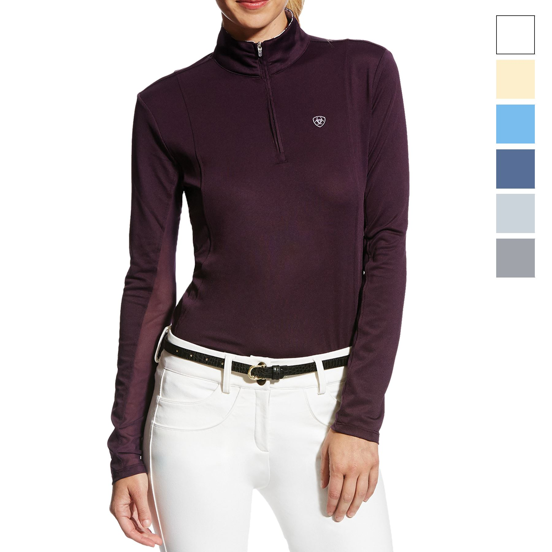 Ariat Ladies Sunstopper 1/4 Zip Shirt