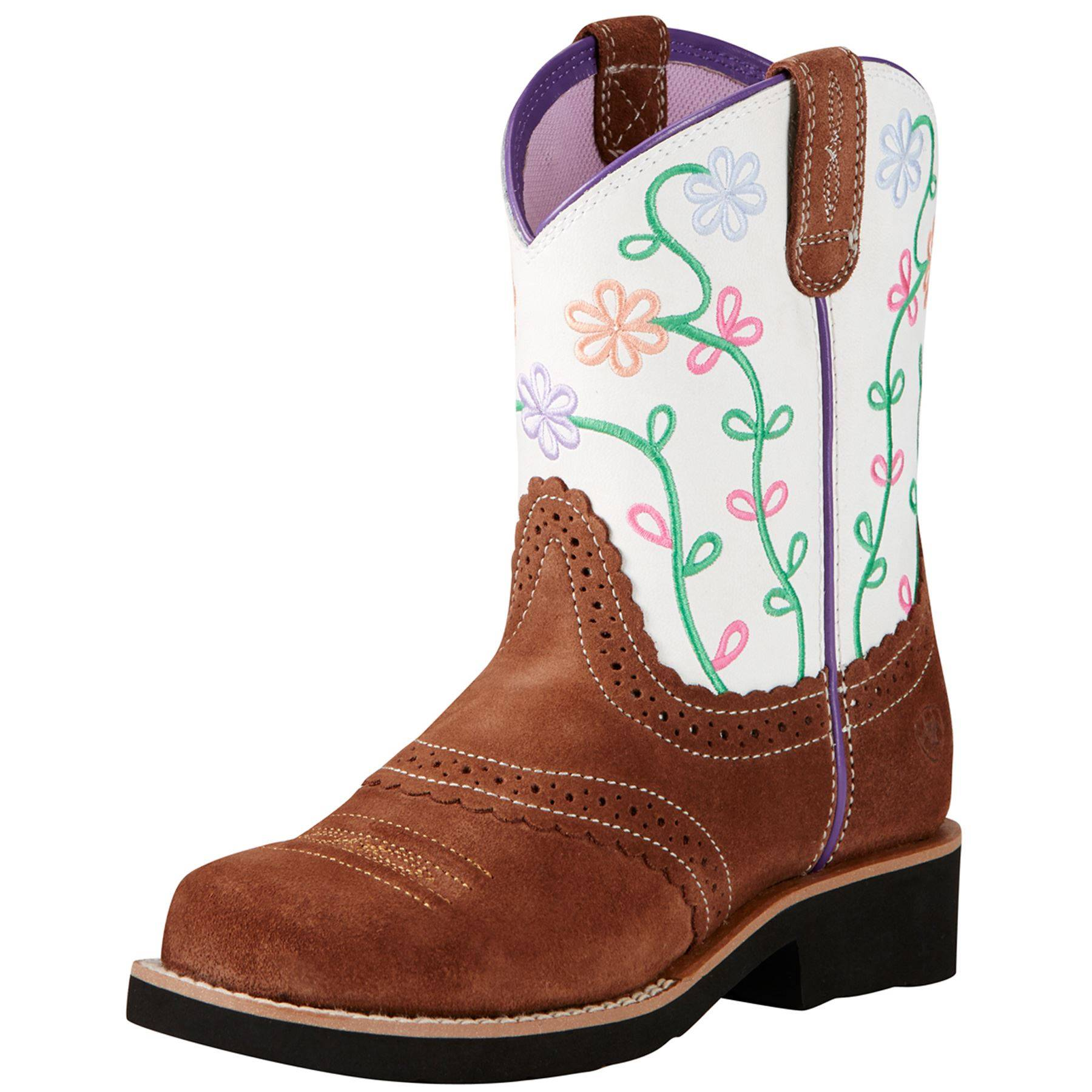 Ariat Kid's Fatbaby Blossom Western Boots