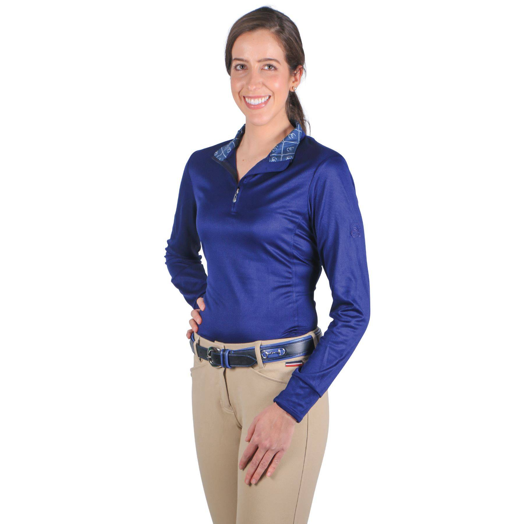 Ovation Ladies Cool Rider Tech Show Shirt