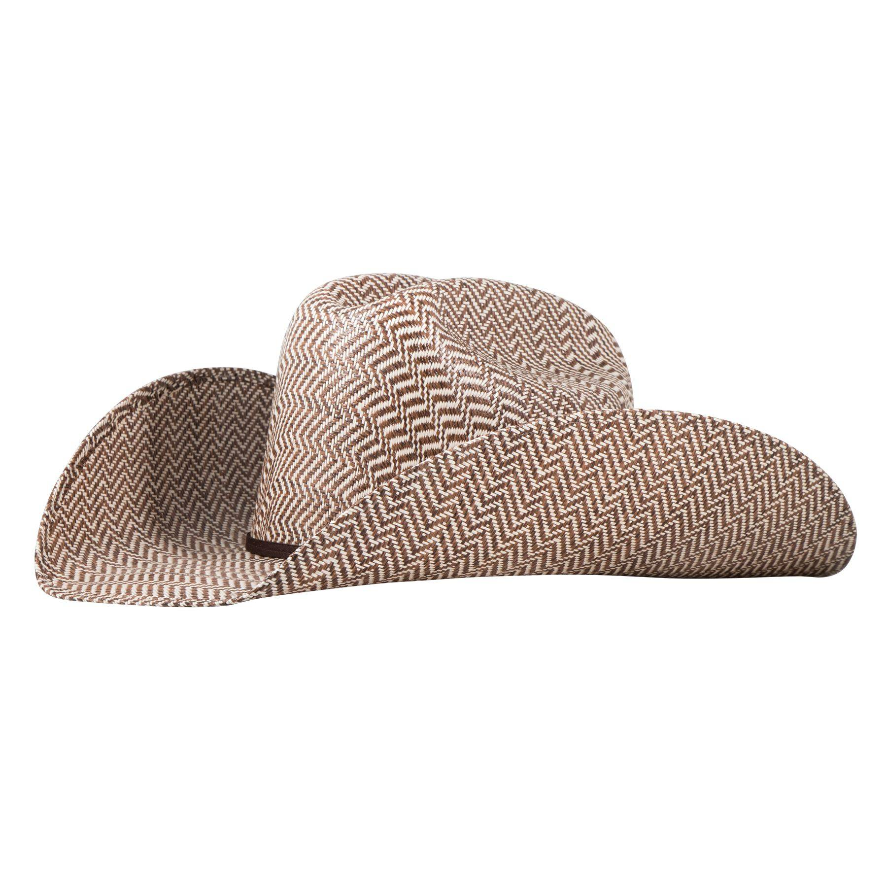 Rodeo King Hereford Rancher Straw Cowboy Hat
