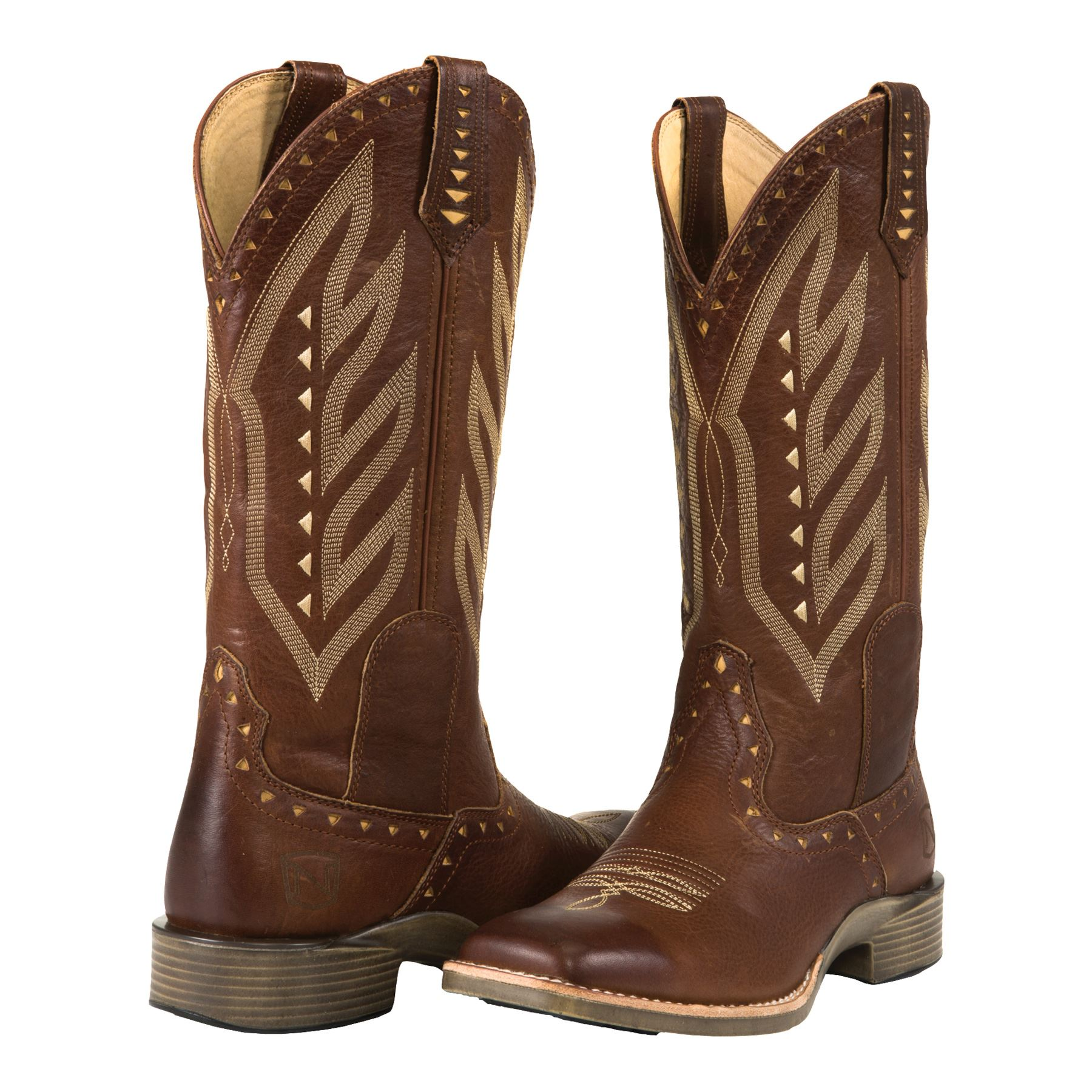 Noble Outfitters® Ladies Burnished Oak All Around Vintage Western Boots