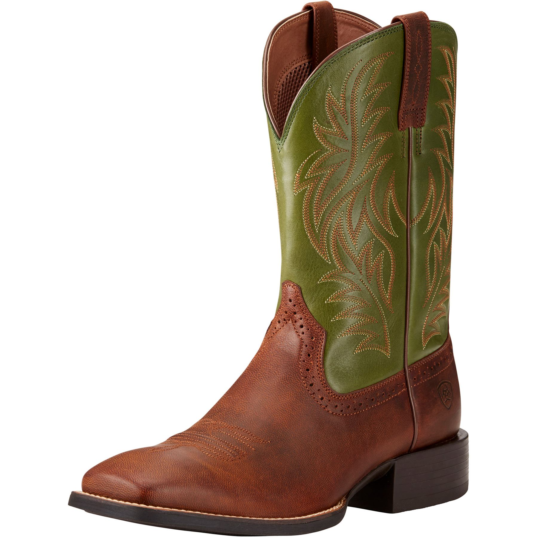 Ariat Men's Rafter Tan Sport Wide Square Toe Western Boots