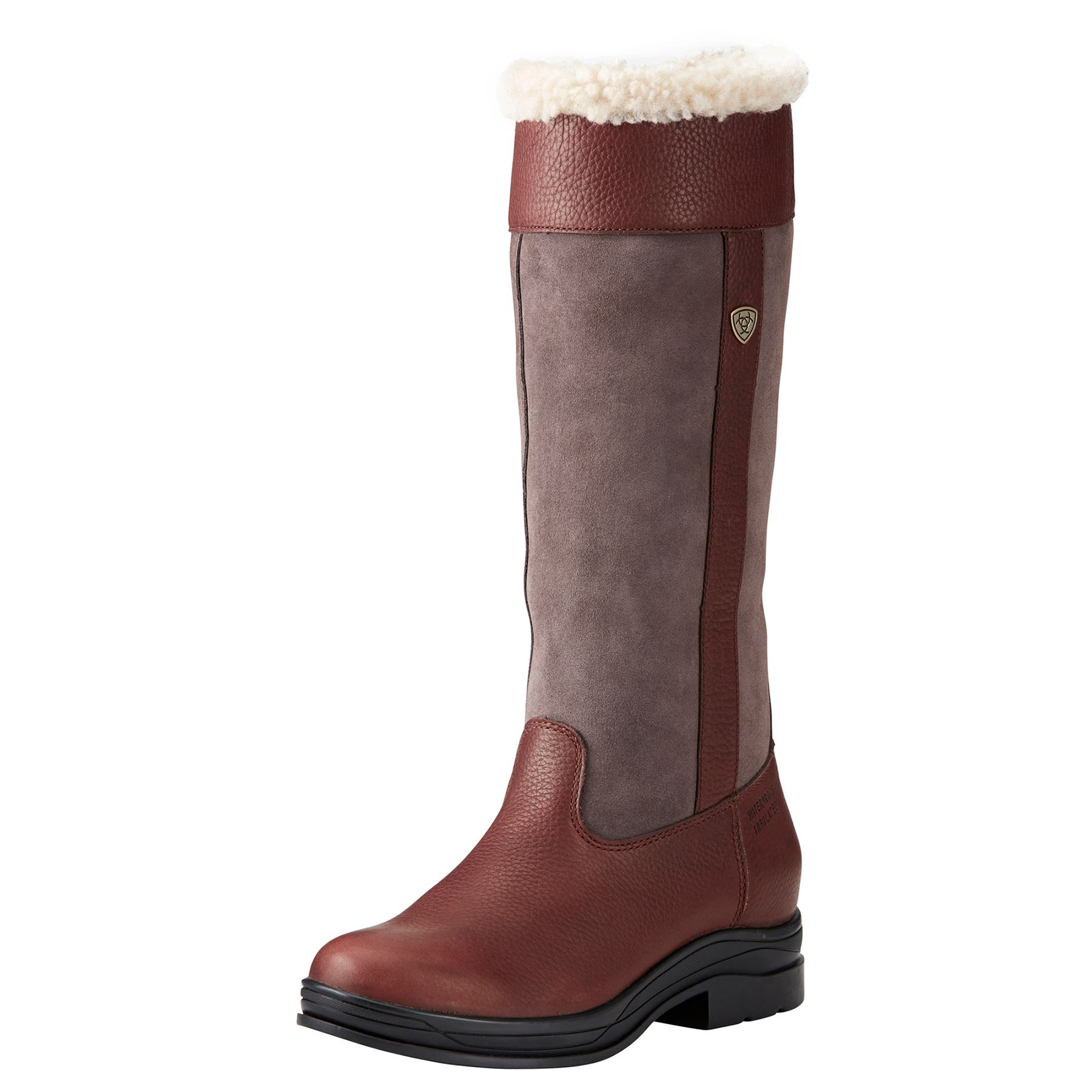 Ariat Ladies Windermere Fur H2o Boots In Winter Boots At