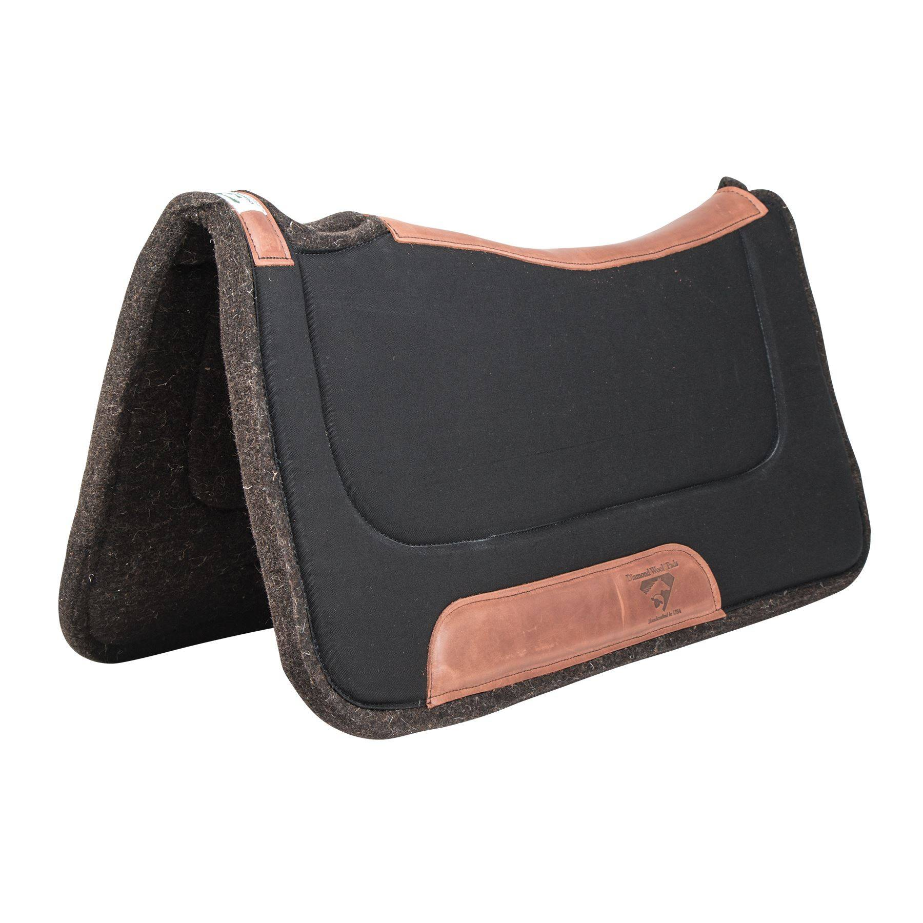Diamond Wool Contour Ranch Western Saddle Pad