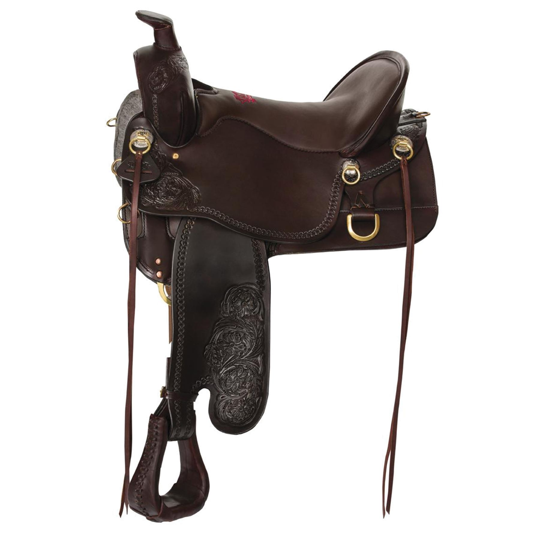 Tucker High Plains Western Trail Saddle