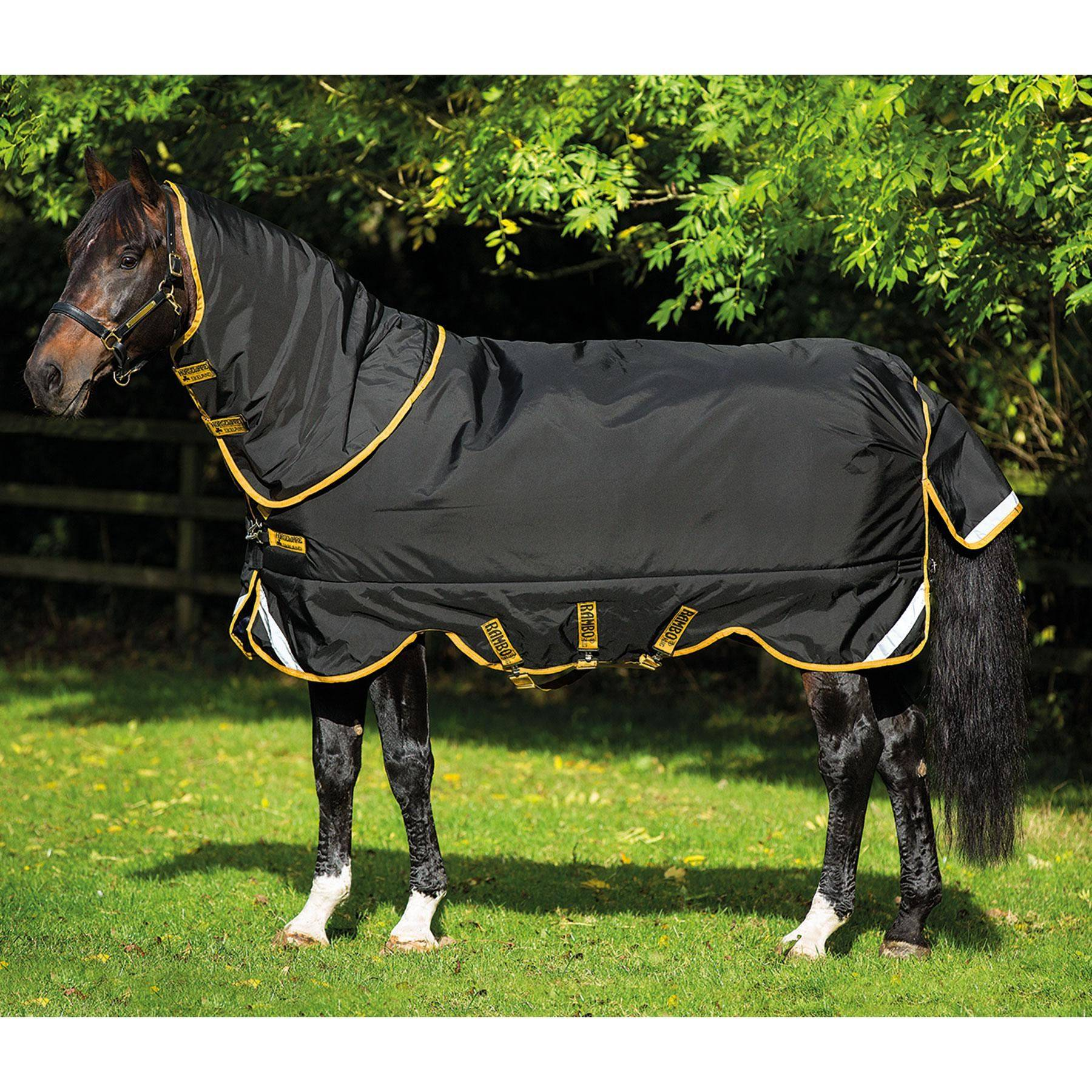 rambo supreme lite turnout sheet in rambo amigo turnout sheets at schneider saddlery. Black Bedroom Furniture Sets. Home Design Ideas