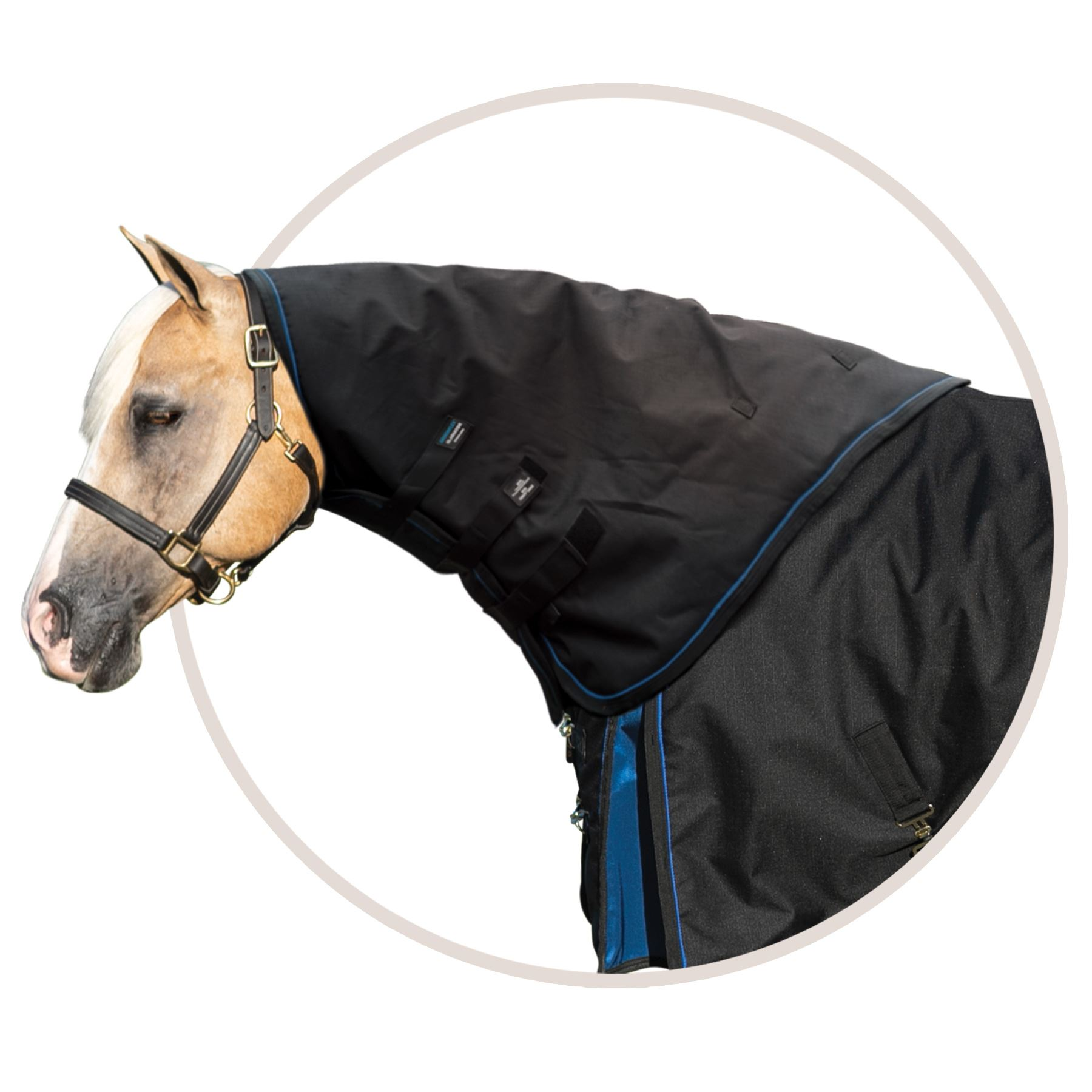 ARMORFlex® Gladiator V-Free® Fit Turnout Blanket Neck Cover