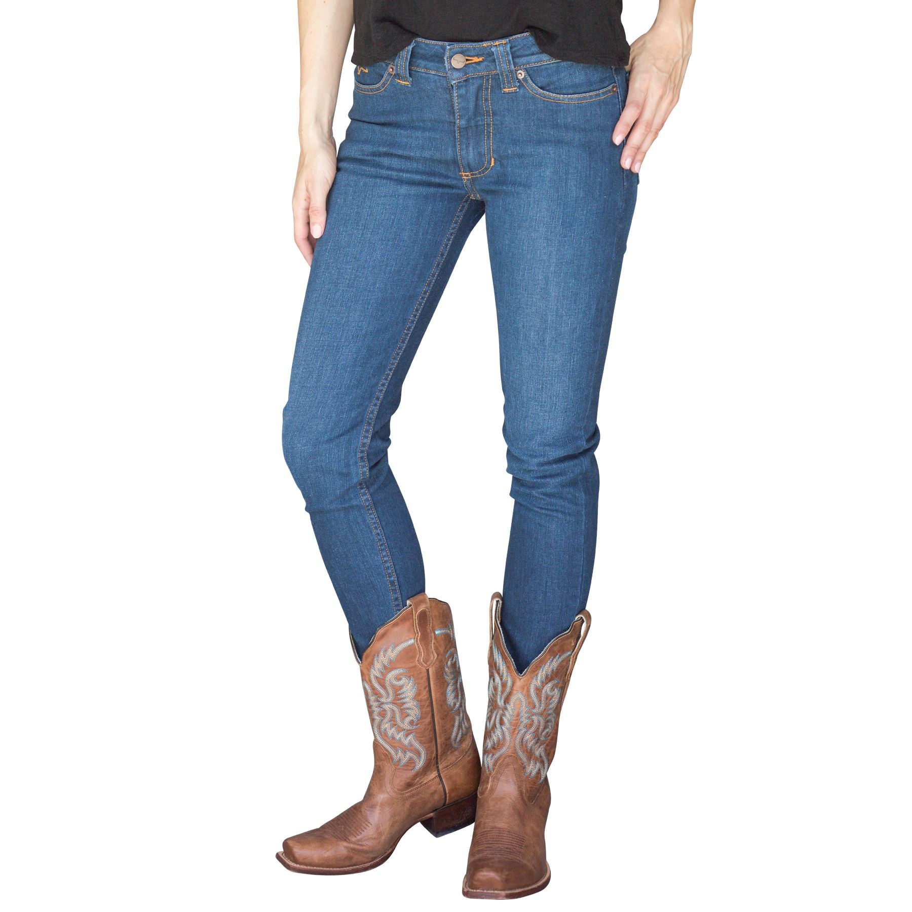 f434b68cc3f Kimes Ranch Women s Bonnie Skinny Jeans in Apparel Boots at ...