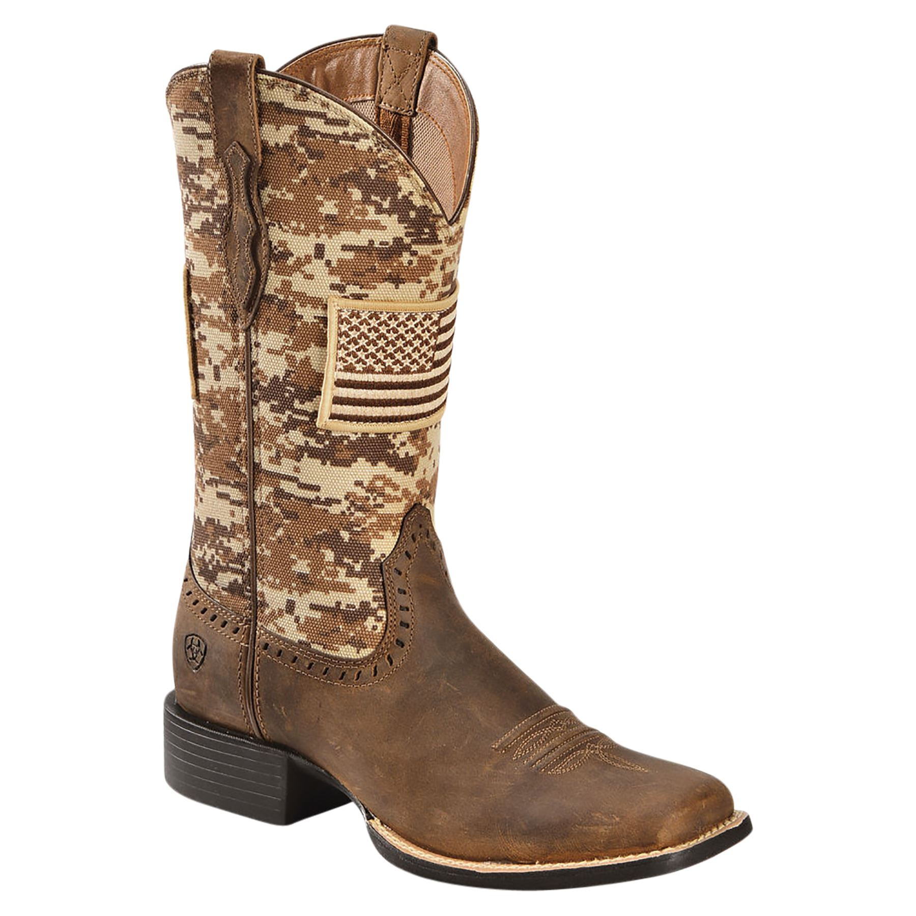 Ariat Womens Round Up Patriot Western Boots d53d213ad082