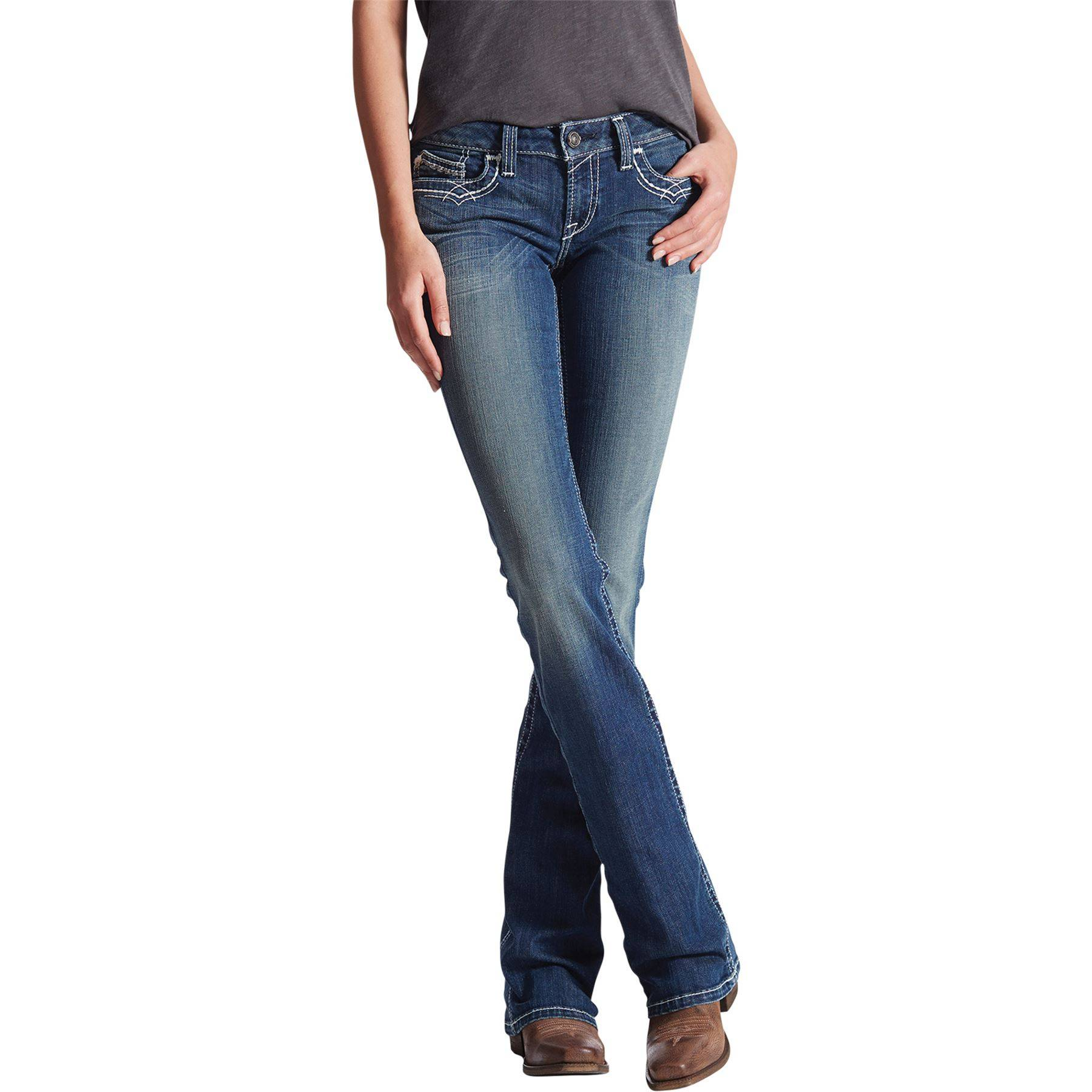 1034bb73254 Ariat R.E.A.L™ Boot Cut Ladies Jeans in Apparel Boots at Schneider ...